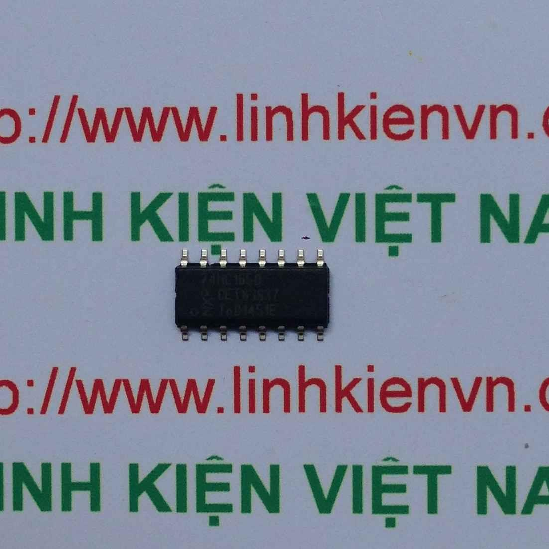IC SMD 74HC165 SOP16 - F7H15