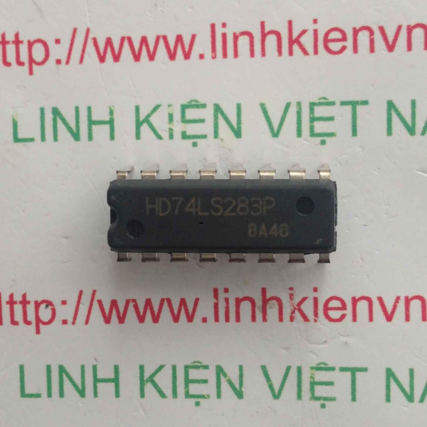 IC 74LS283 - DIP16 - F2H8