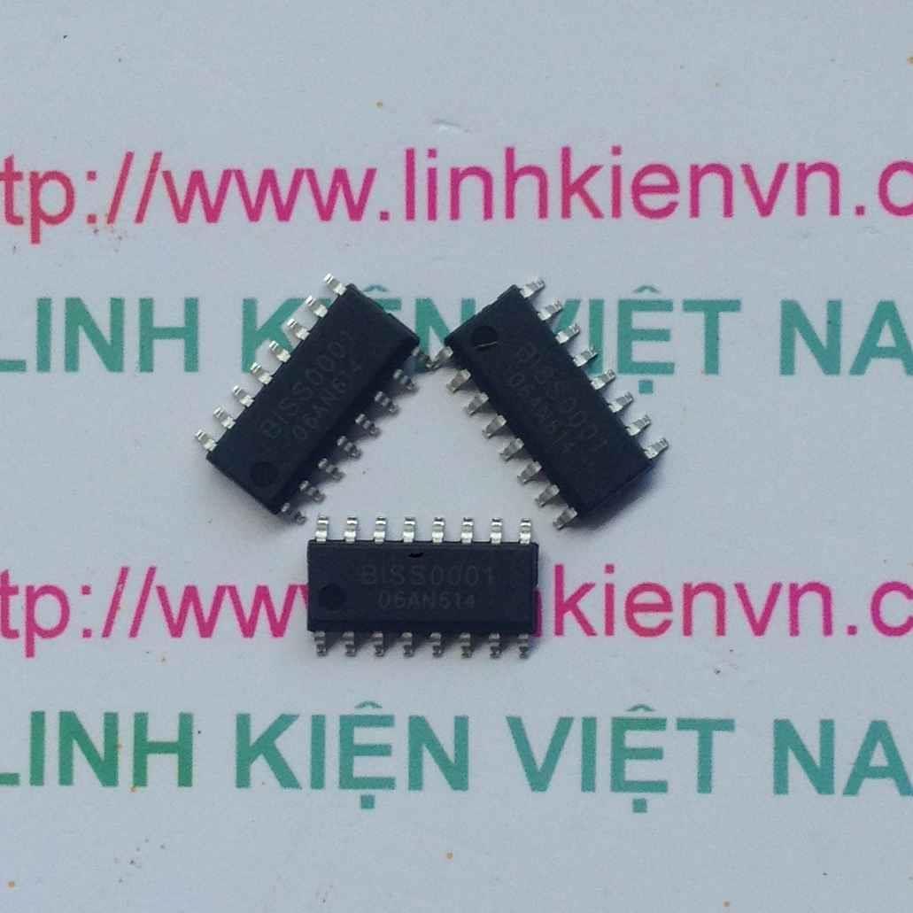 IC BISS0001 SMD / IC đọc cảm biến PIR - F10H11