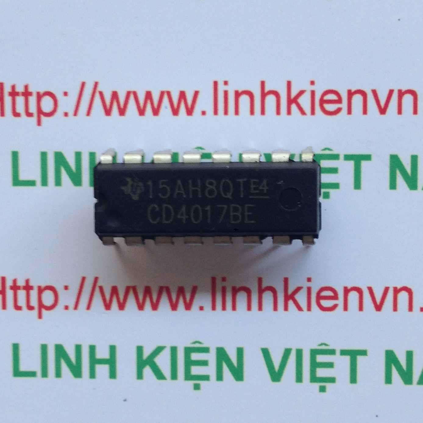 IC CD4017 DIP16 - F1H9