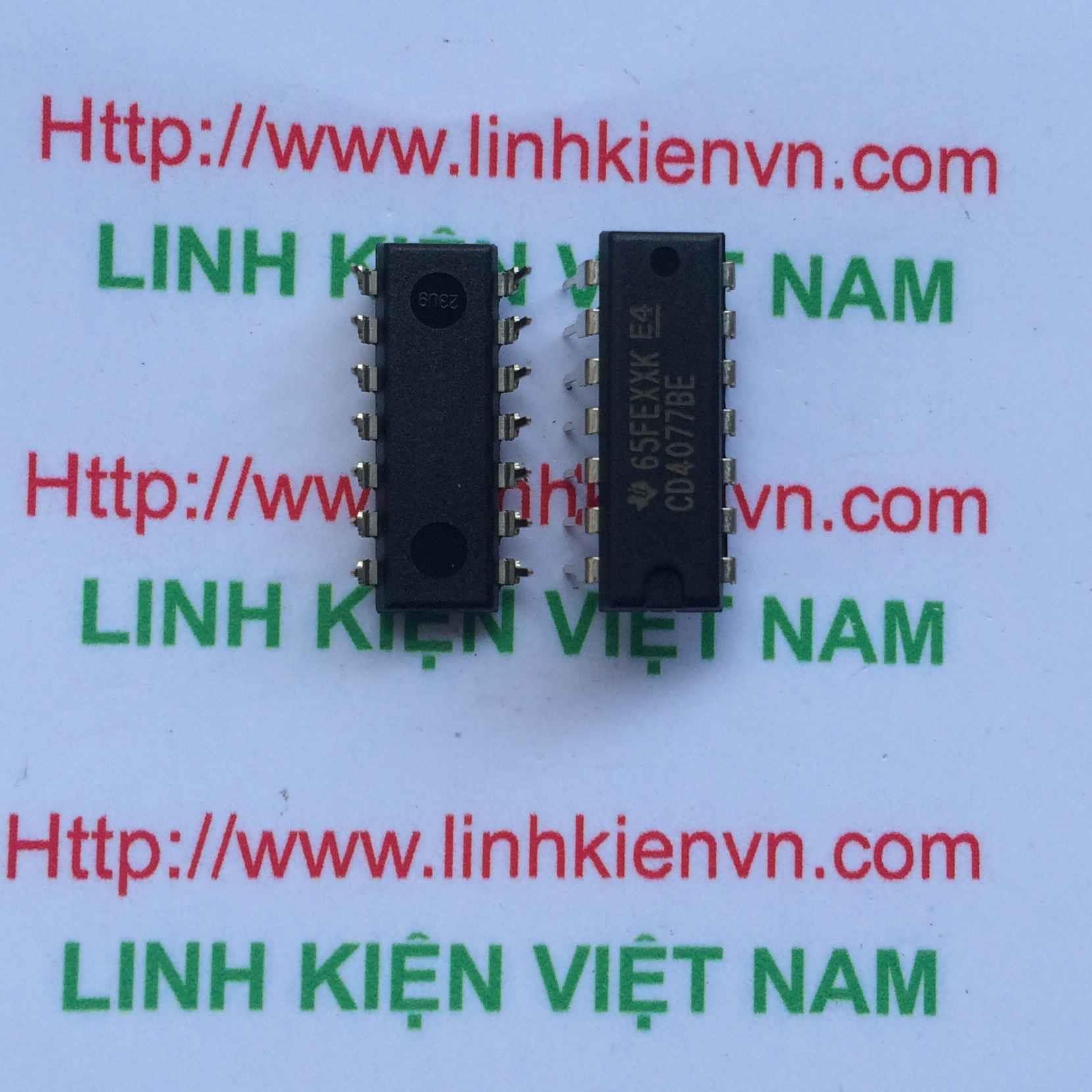 IC CD4077/ IC CD4077-F5H6