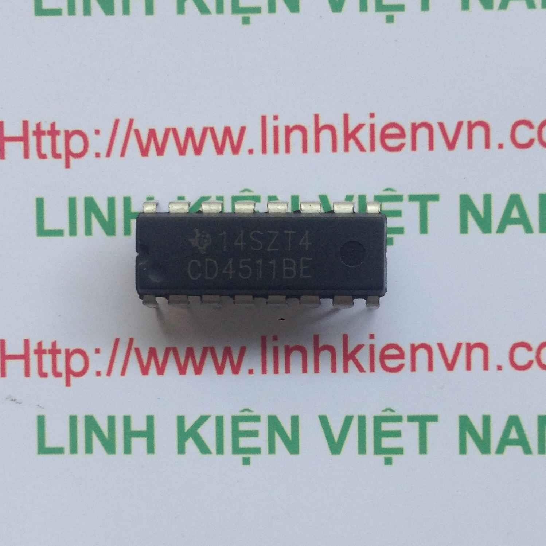 IC CD4511 DIP16 - F1H13