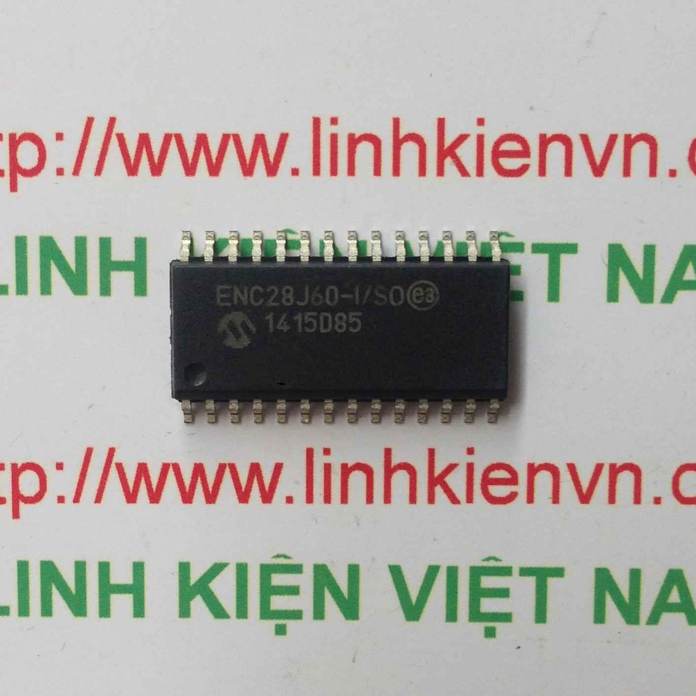 IC ETHERNET ENC28J60 I/SO - F9H7