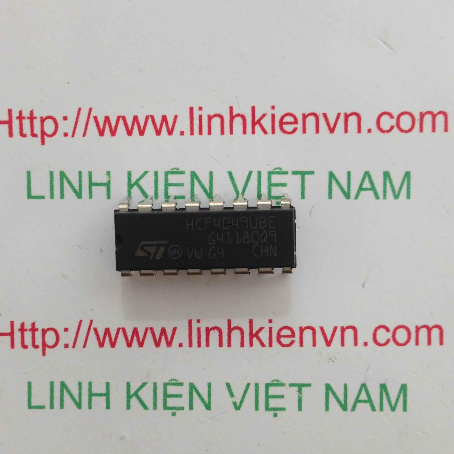 IC HCF4049 DIP16 - F1H10