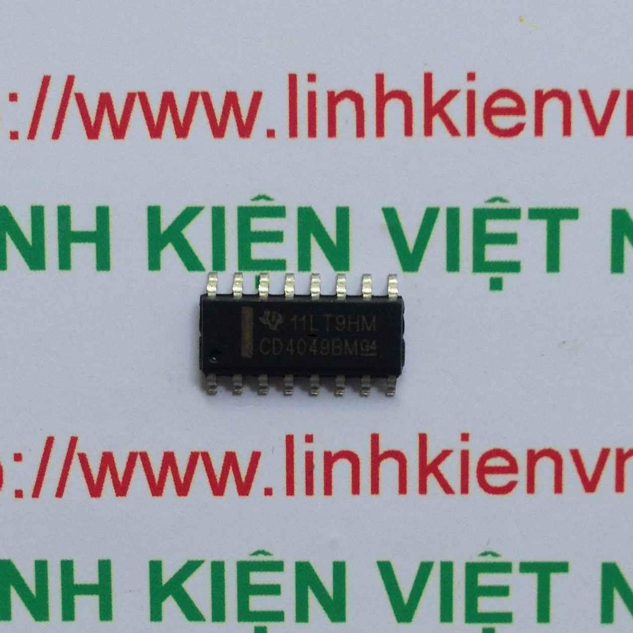 IC HCF4049 - SMD - F7H5