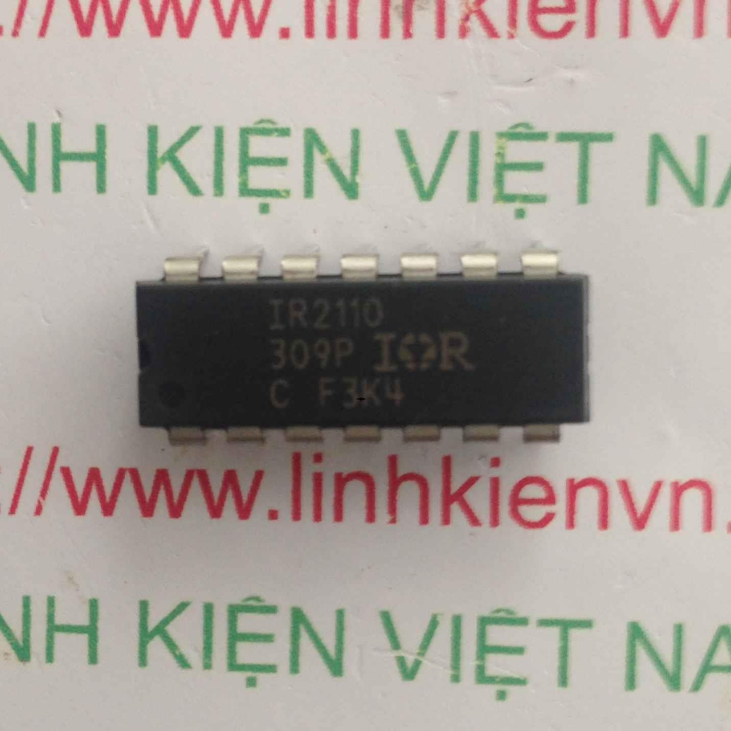 IC IR2110 - DIP16 - F4H1