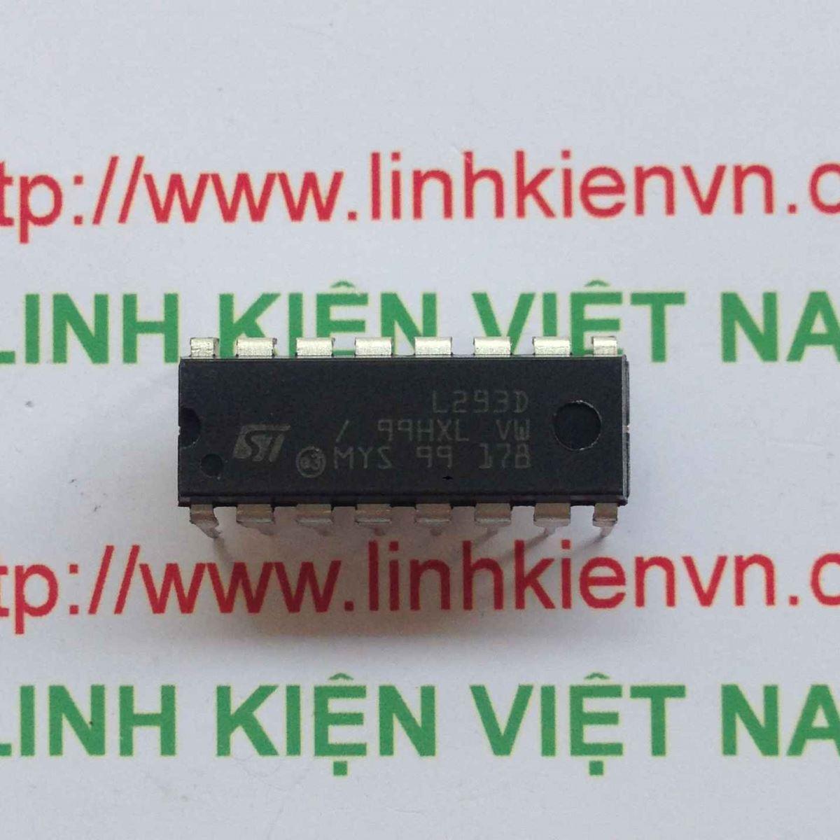 IC L293 DIP16 - F4H3