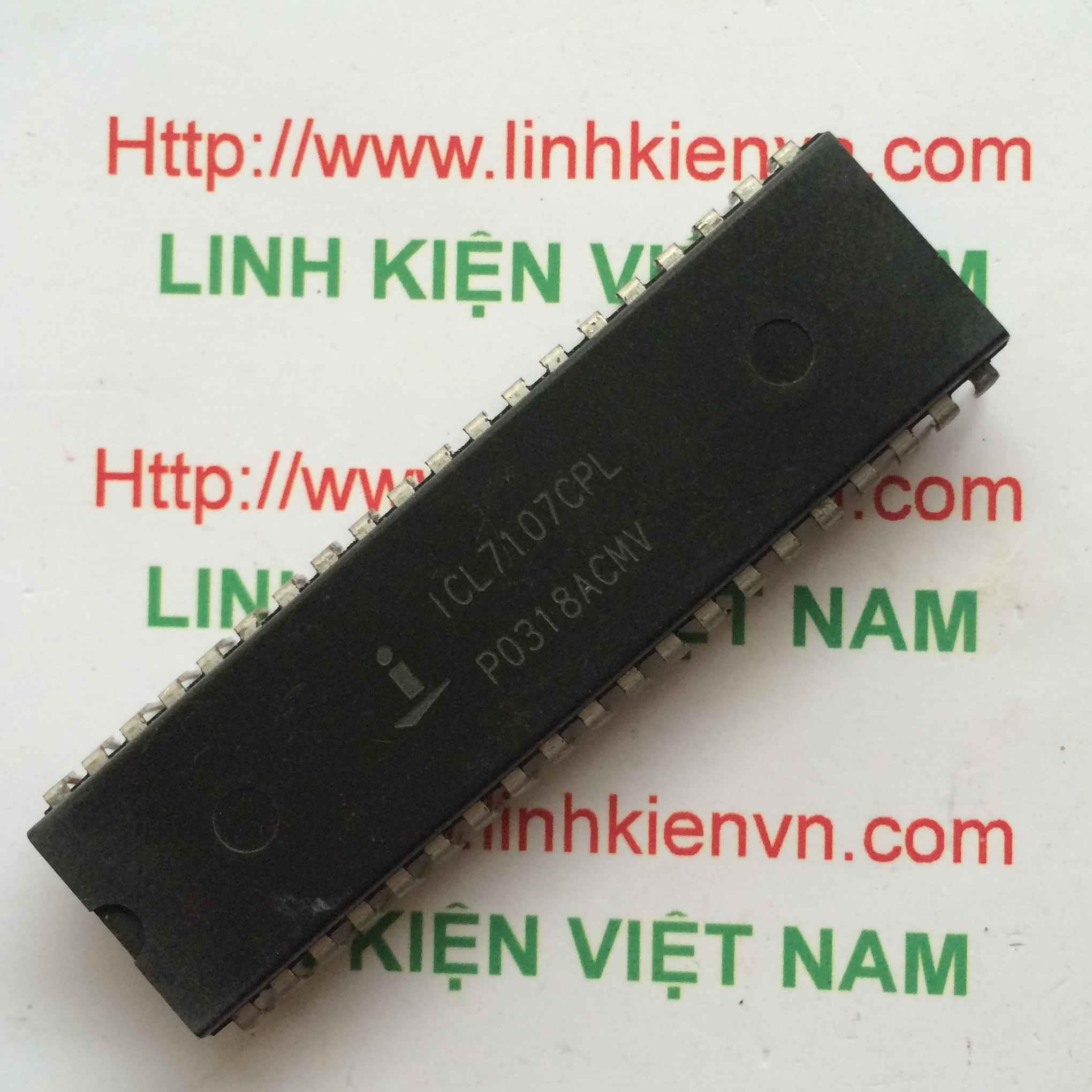 IC ICL7107CPLZ DIP40 - F9H2