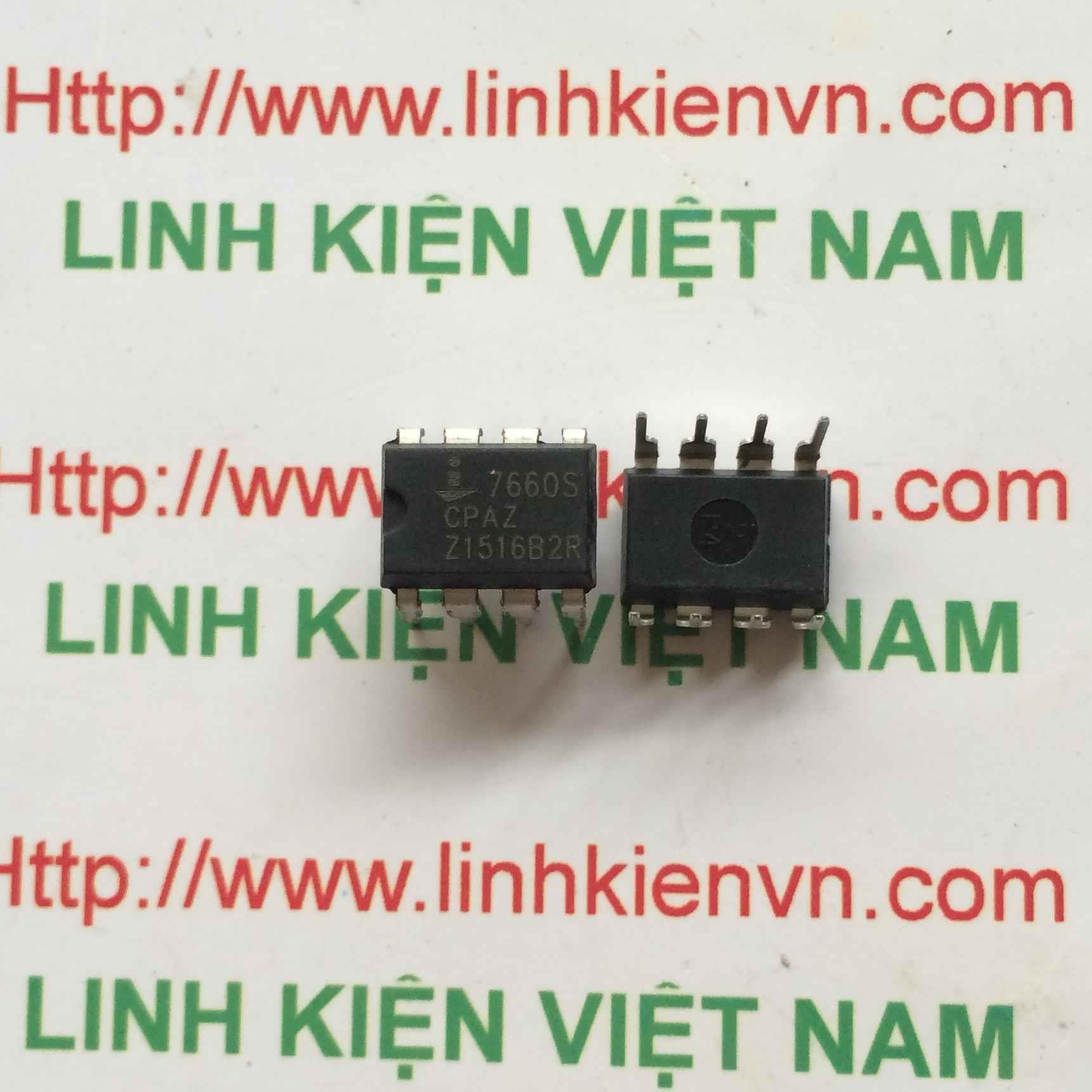 IC ICL7660 7660S DIP8 - F3H3