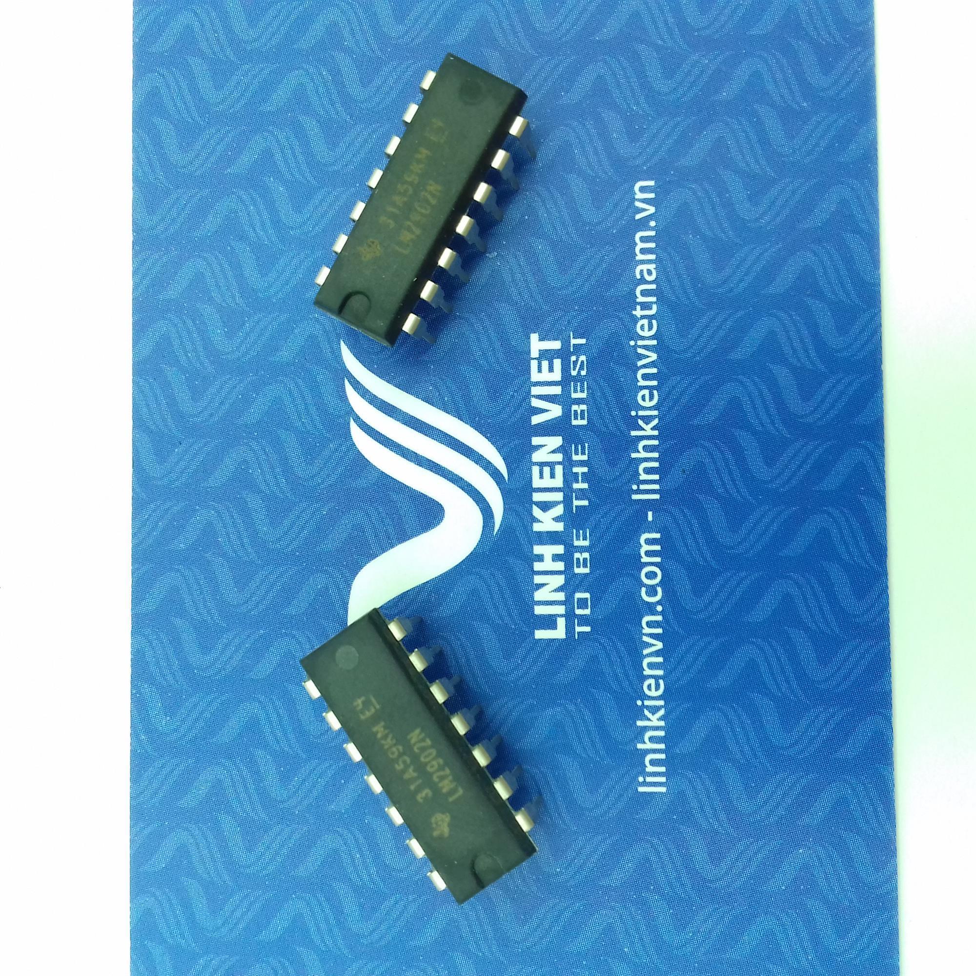 IC LM2902 - DIP14 - F5H8