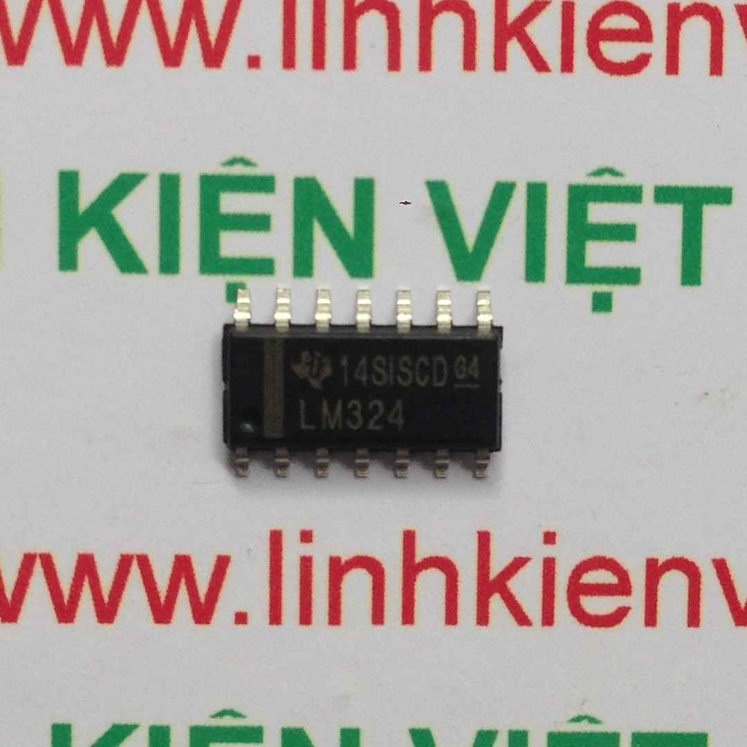 IC SMD LM324 SOP14 chính hãng ST - F8H7