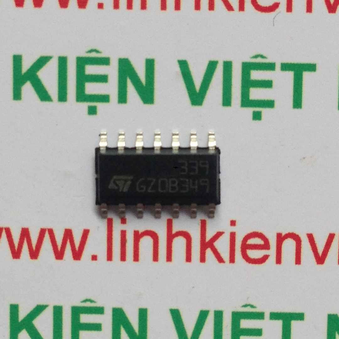 IC LM339/LM339A - SMD - F8H8
