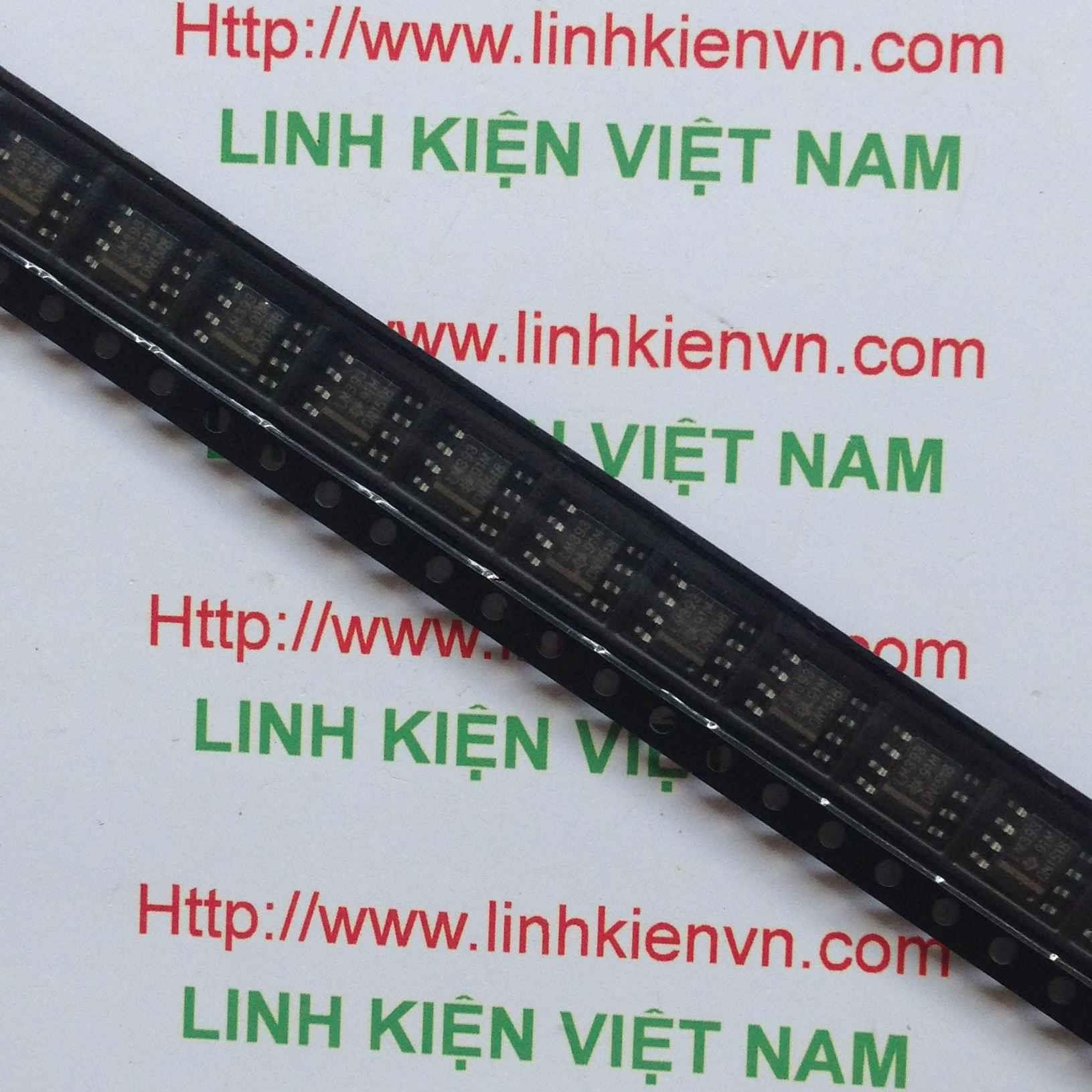IC LM393 - SMD - F8H9
