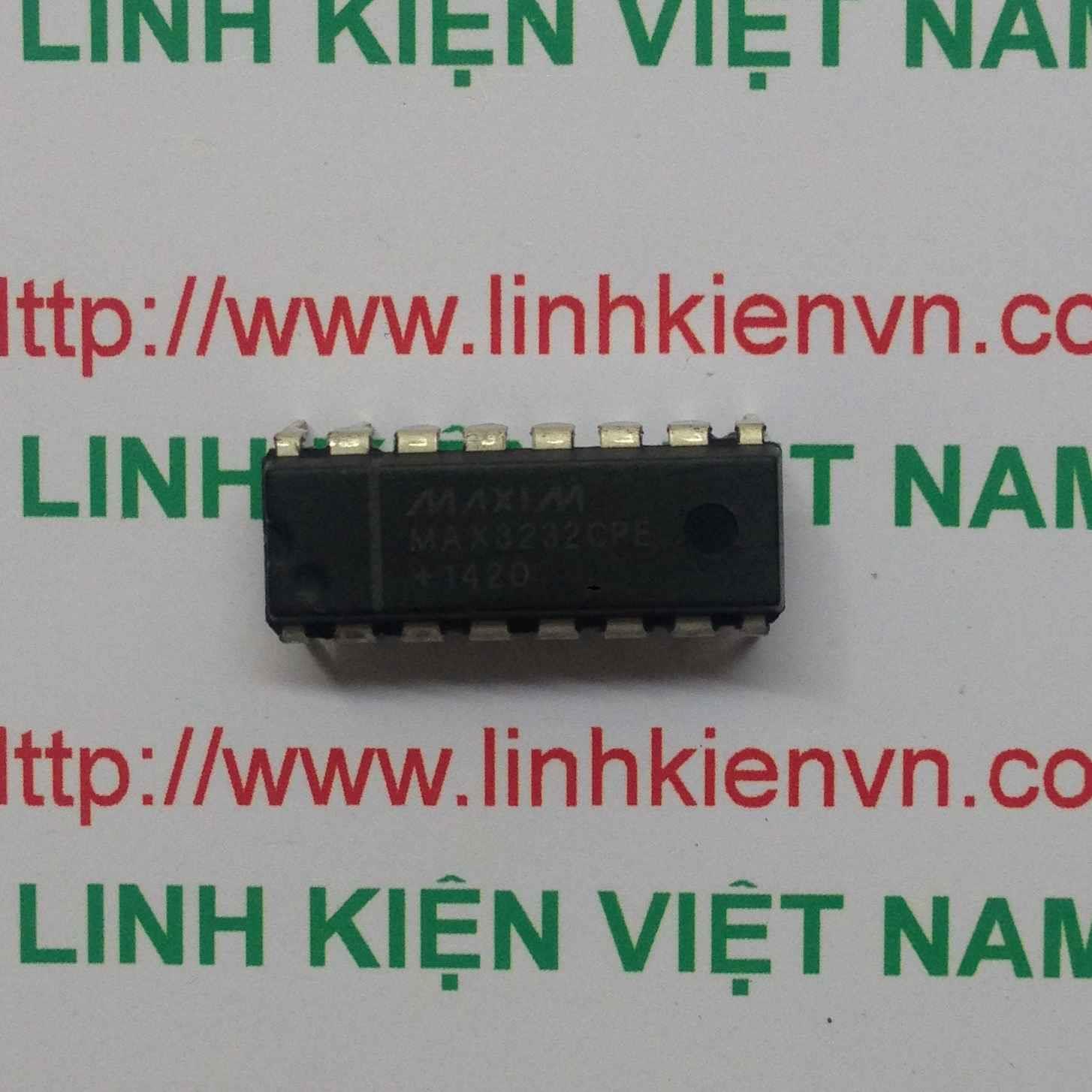 IC MAX3232 - DIP - F3H12