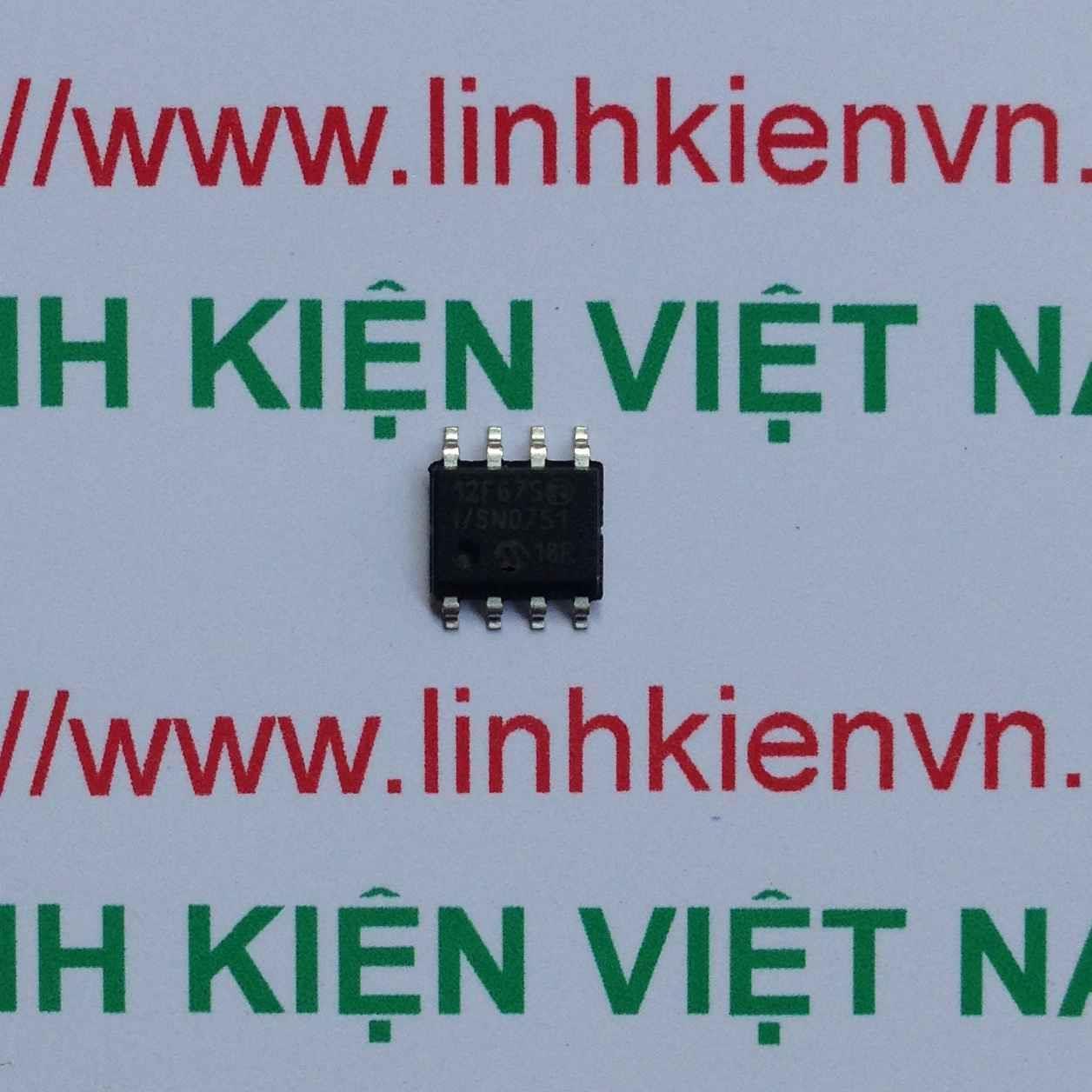 IC SMD PIC12F675 SOP8 12F675 - F6H12