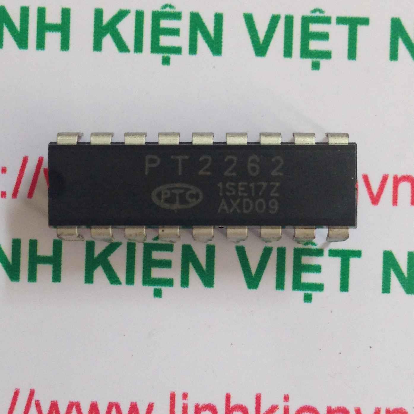 IC RF 4 Kenh PT2262 - DIP18 - F2H10