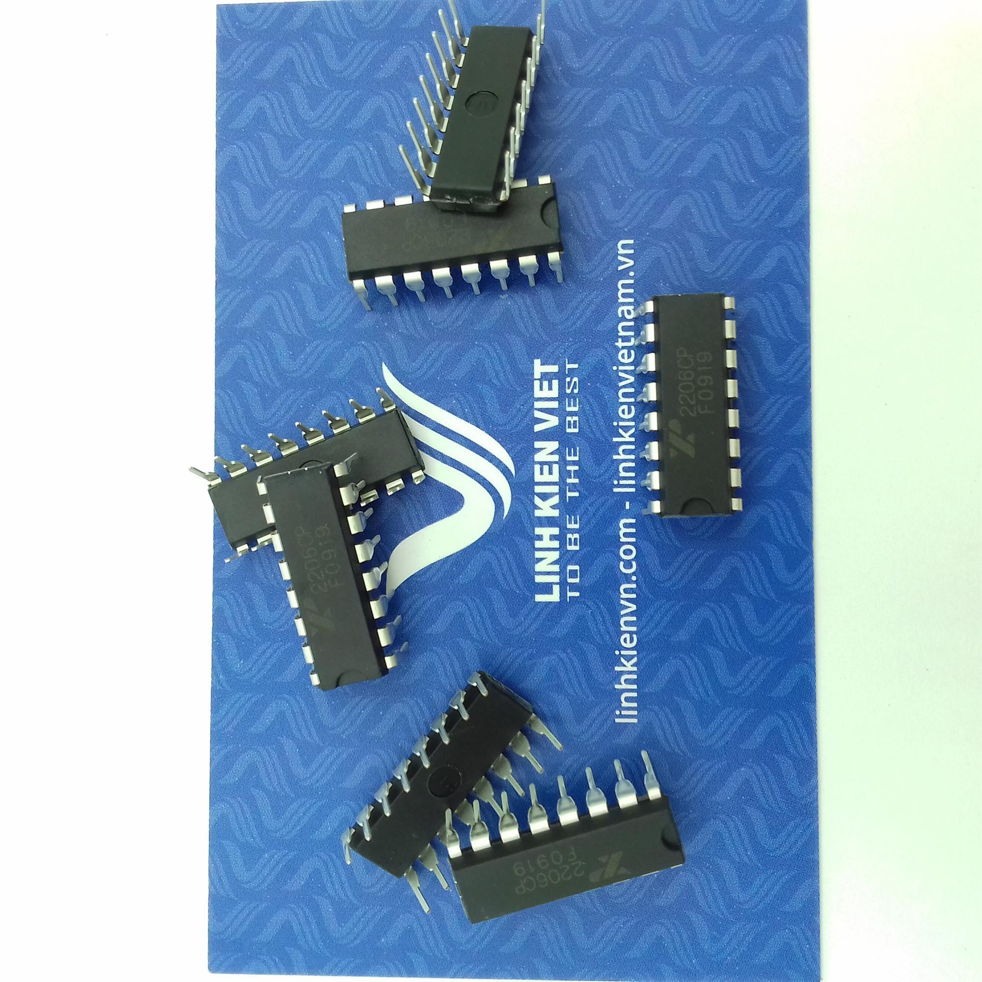 IC tạo xung XR2206 Dip16 - F5H15
