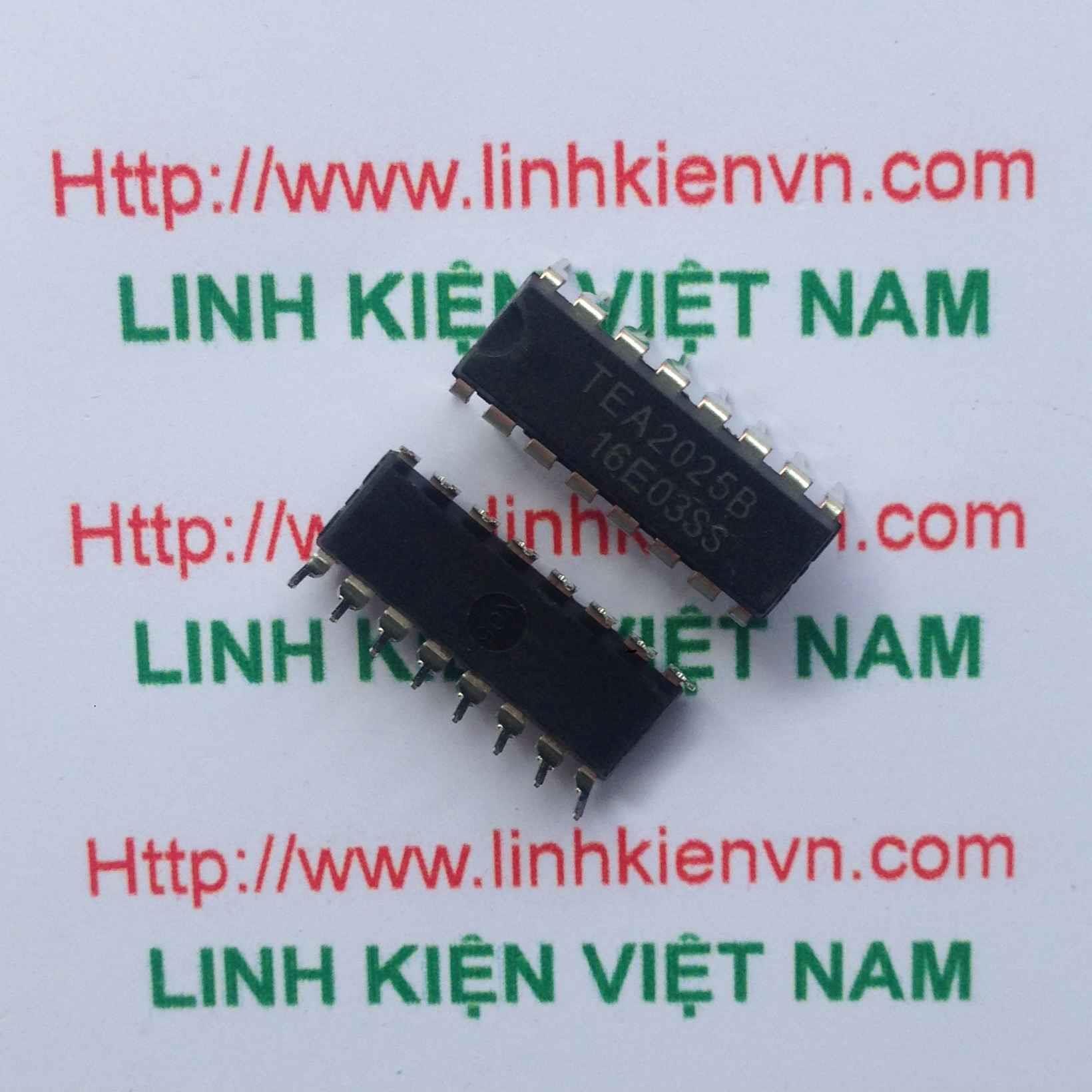 IC TEA2025B/ IC khuếch đại âm thanh TEA2025B - F3H2