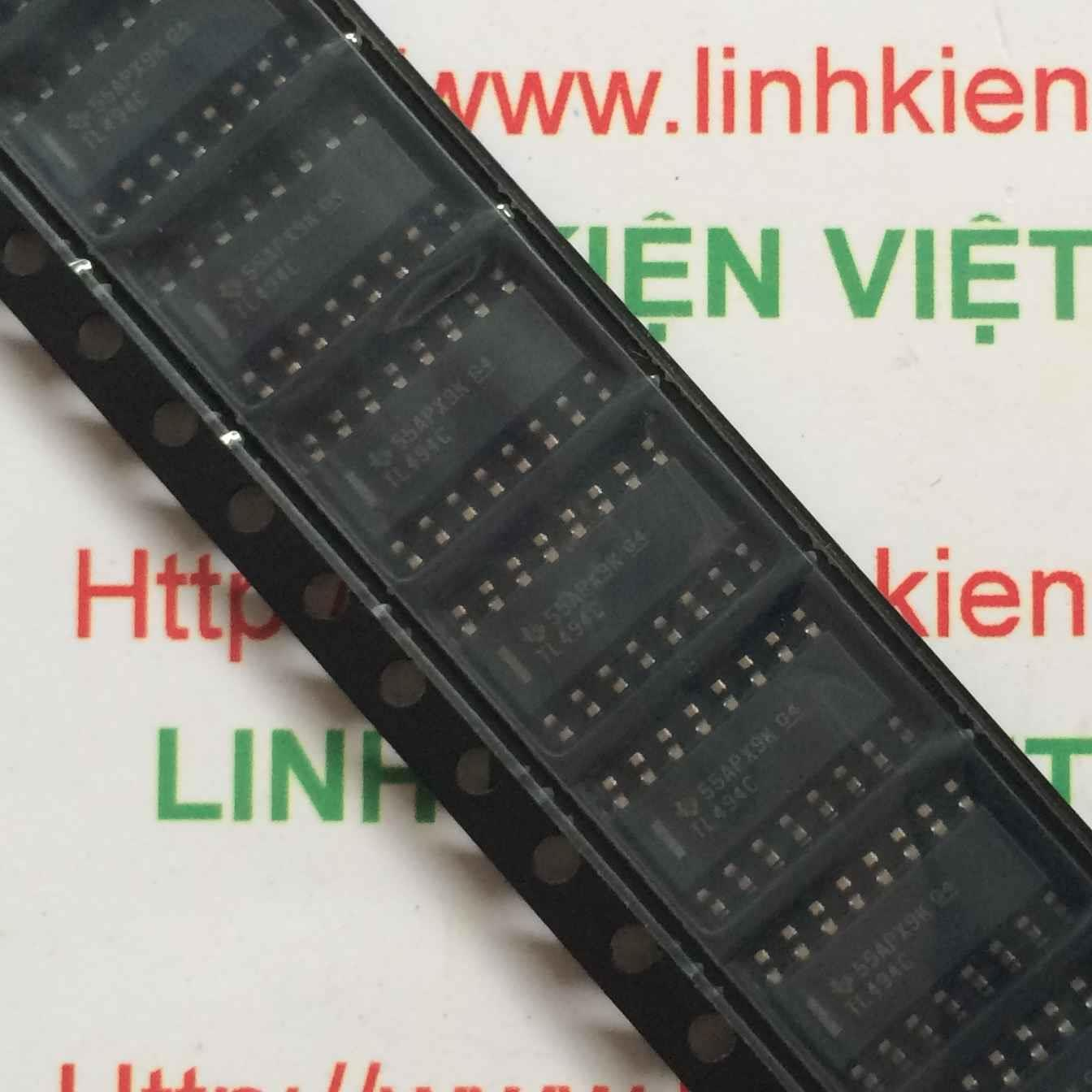 IC TL494 - SOIC16 - F8H11
