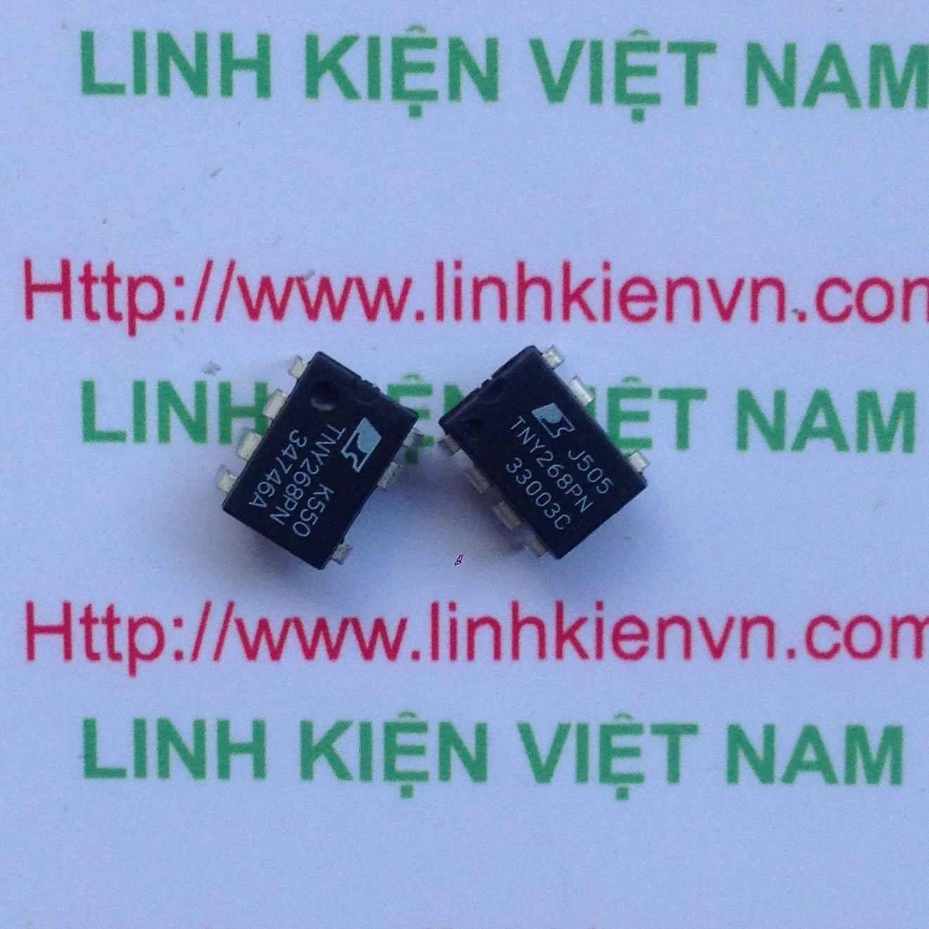 IC TNY268PN DIP7 / IC nguồn TNY268PN - (Hàng Cũ) - F5H14