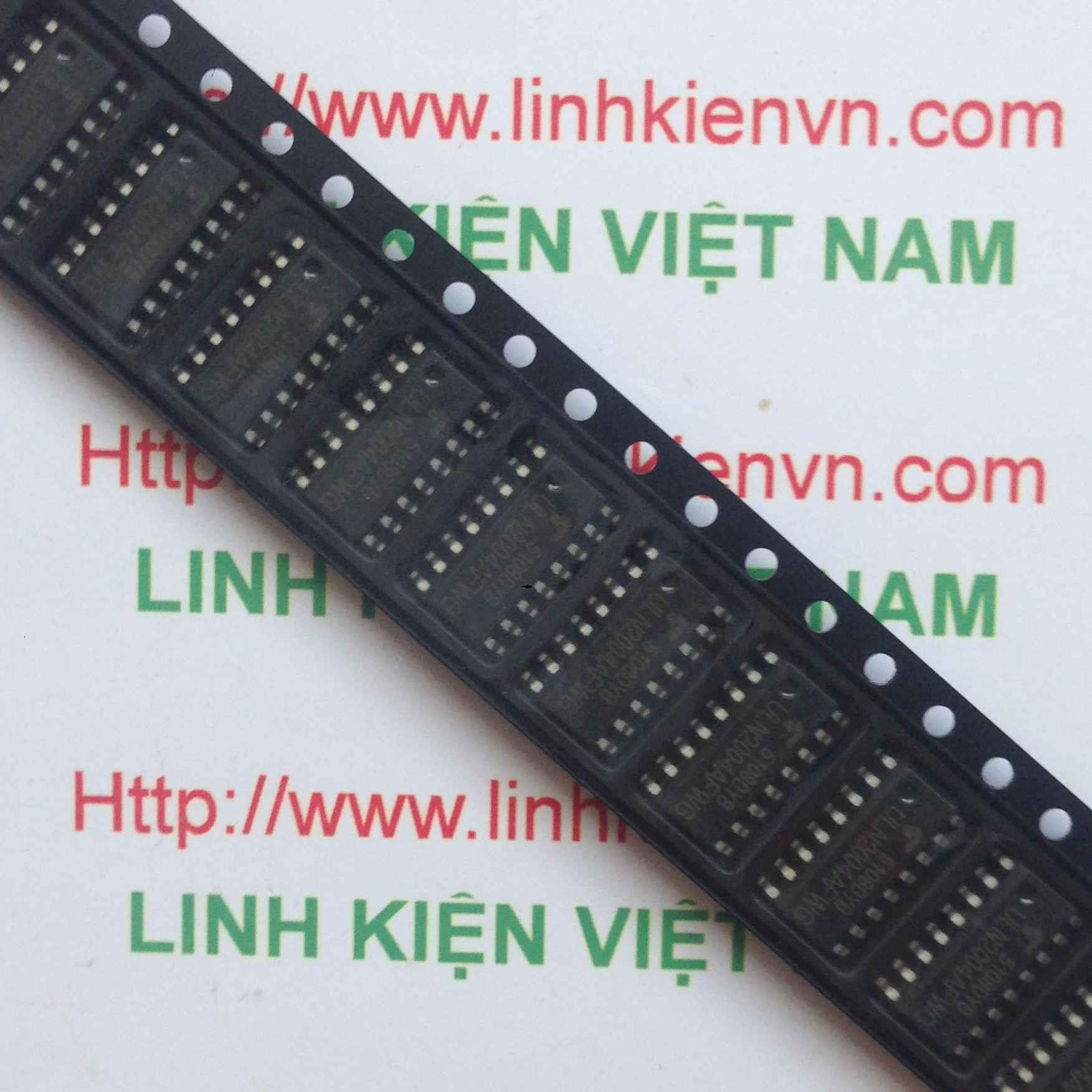 IC ULN2004 - SO16 - F8H6