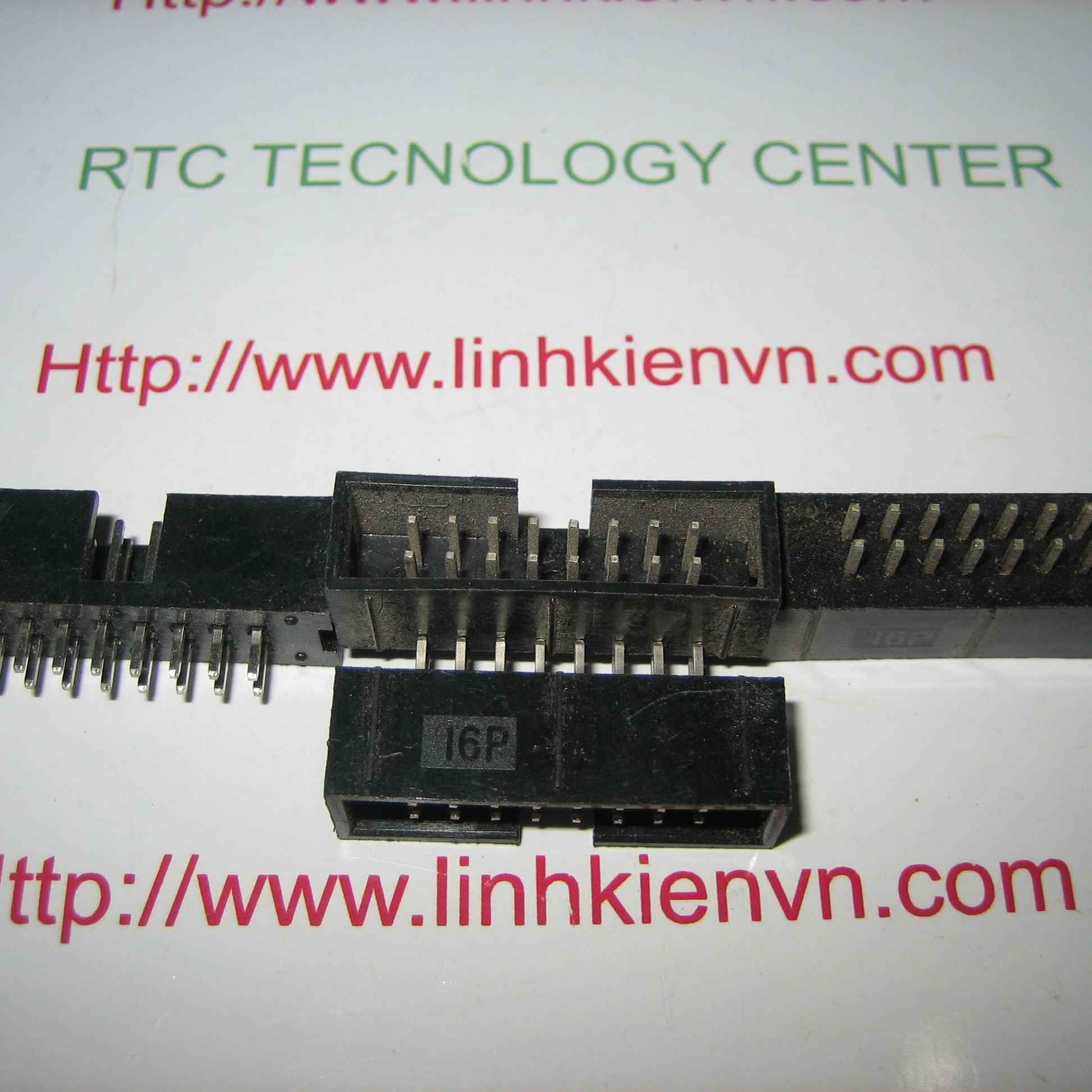 Đầu jack DC3-16p IDE ĐỰC THẲNG 16 chân - D10H3
