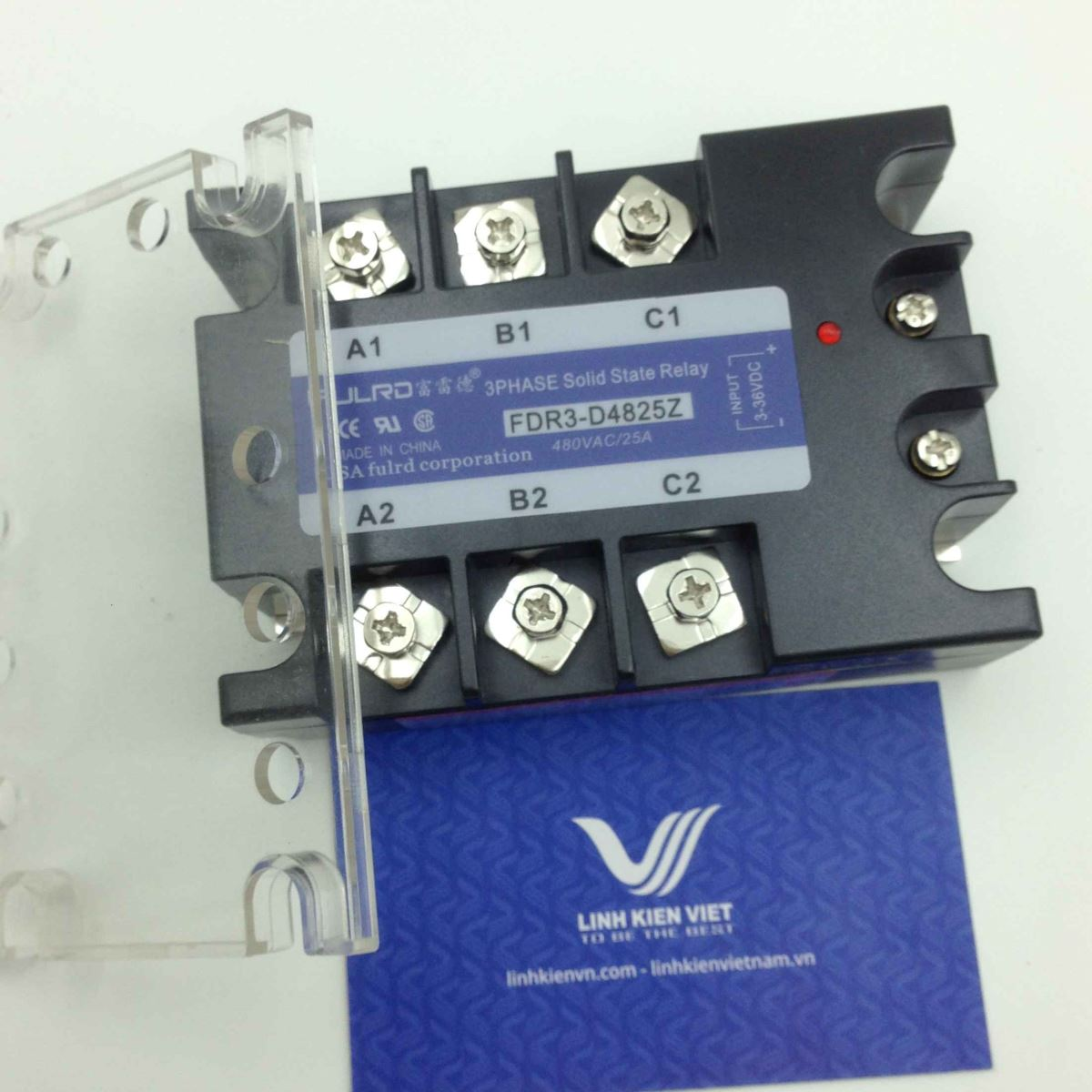 Relay bán dẫn 3 pha SSR 25A FDR3-D4825Z - (KB4H3)