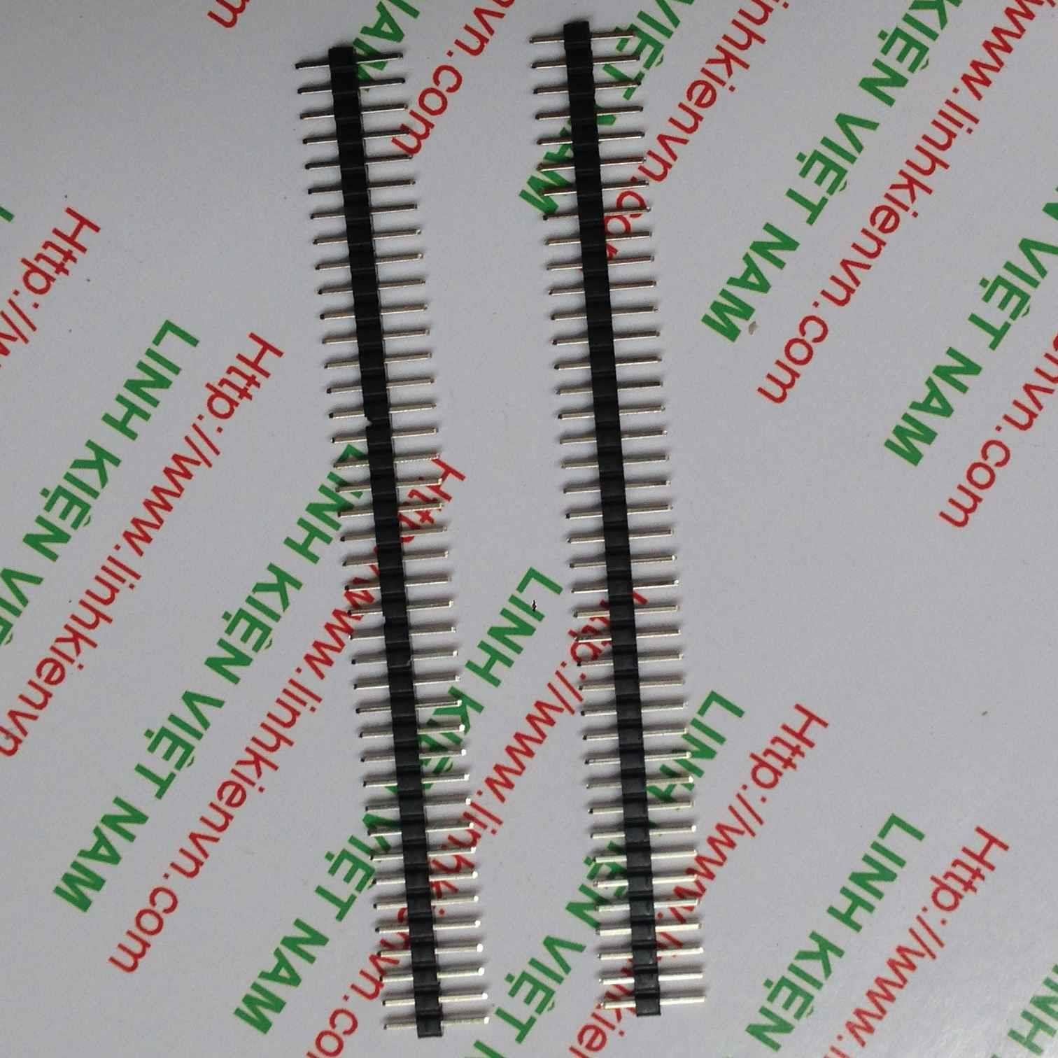 Jum đực thẳng đơn 1x40p 2.0mm / Jump đực thẳng 2.0mm đơn - D2H11