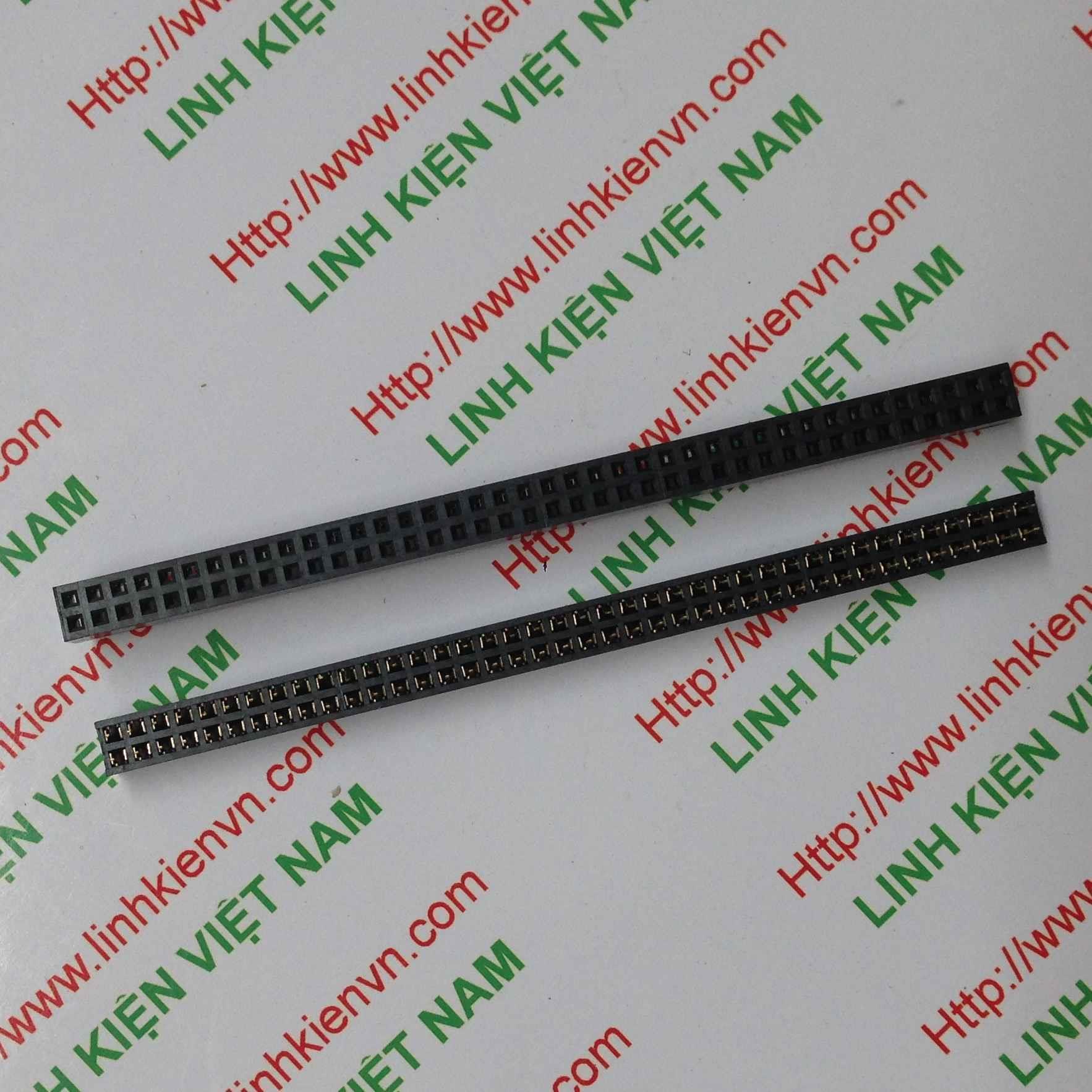 Jump cái kép 2x40 2.0mm / Jump cái kép 2.0mm - D2H18