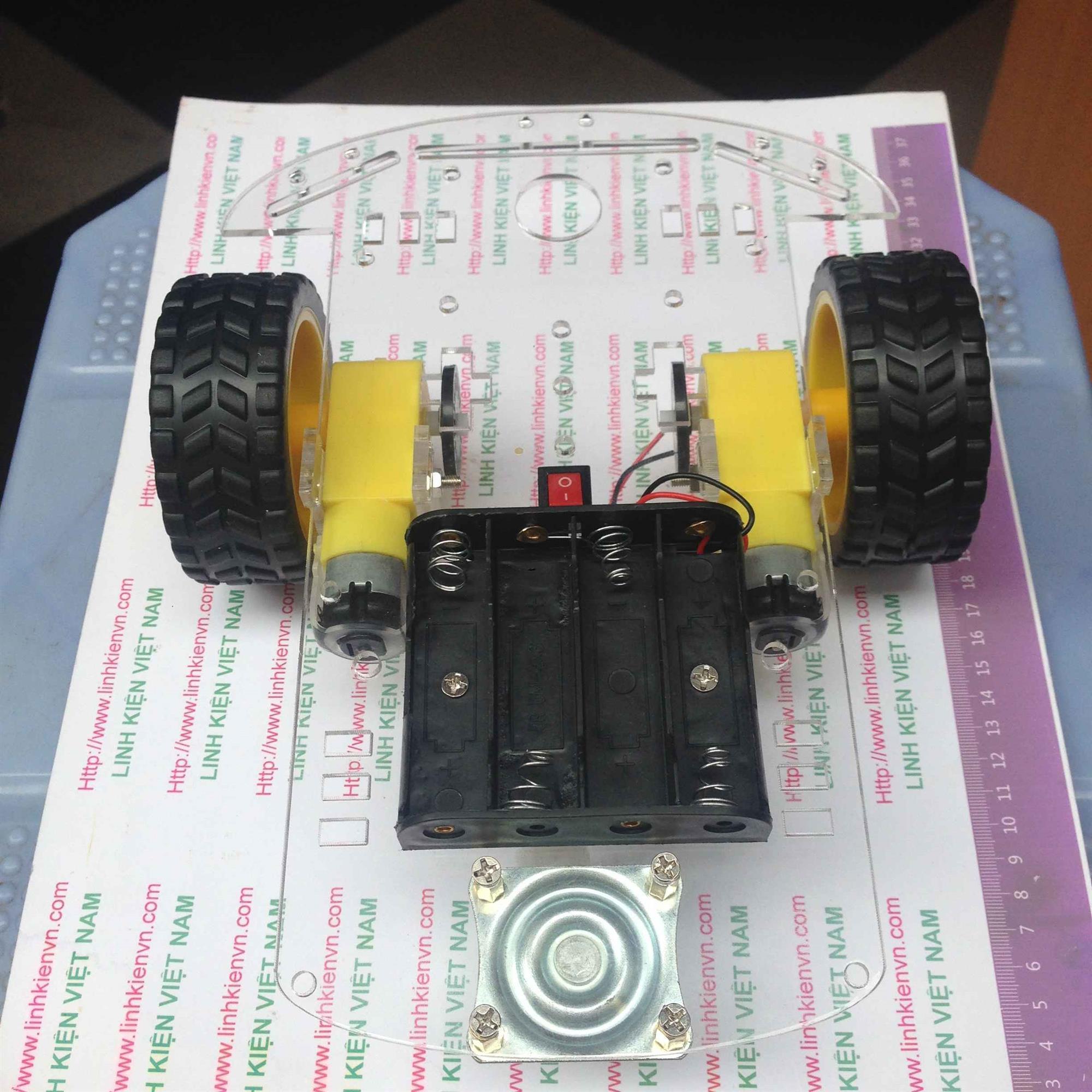 Khung xe robot / Xe robot rò đường KHO