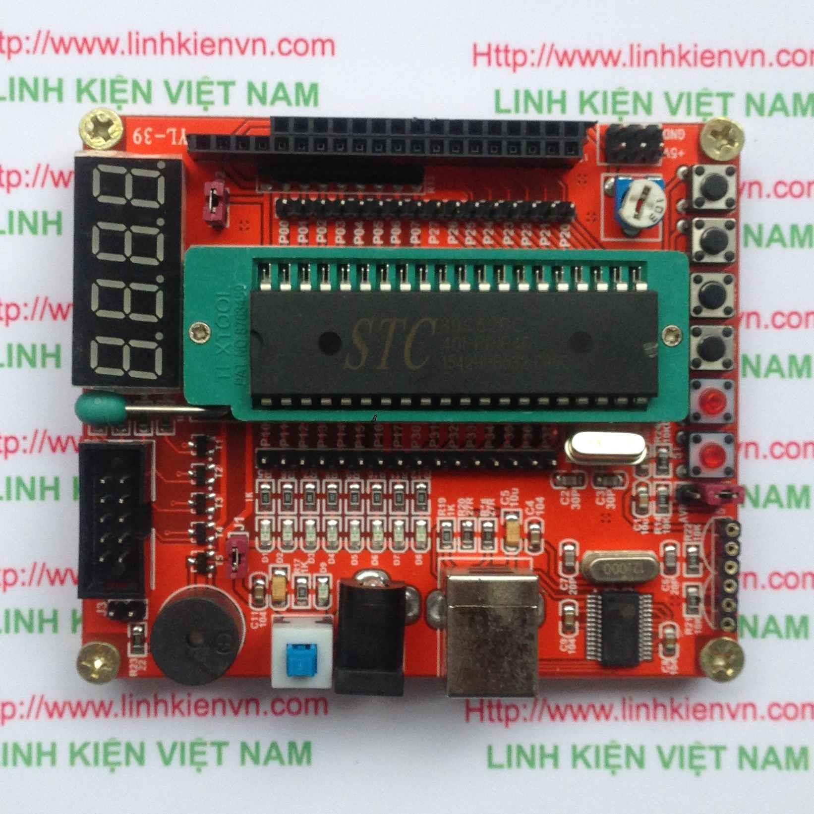 Kít phát triển 89s52 89C52 AVR / Kít 89- G2H11