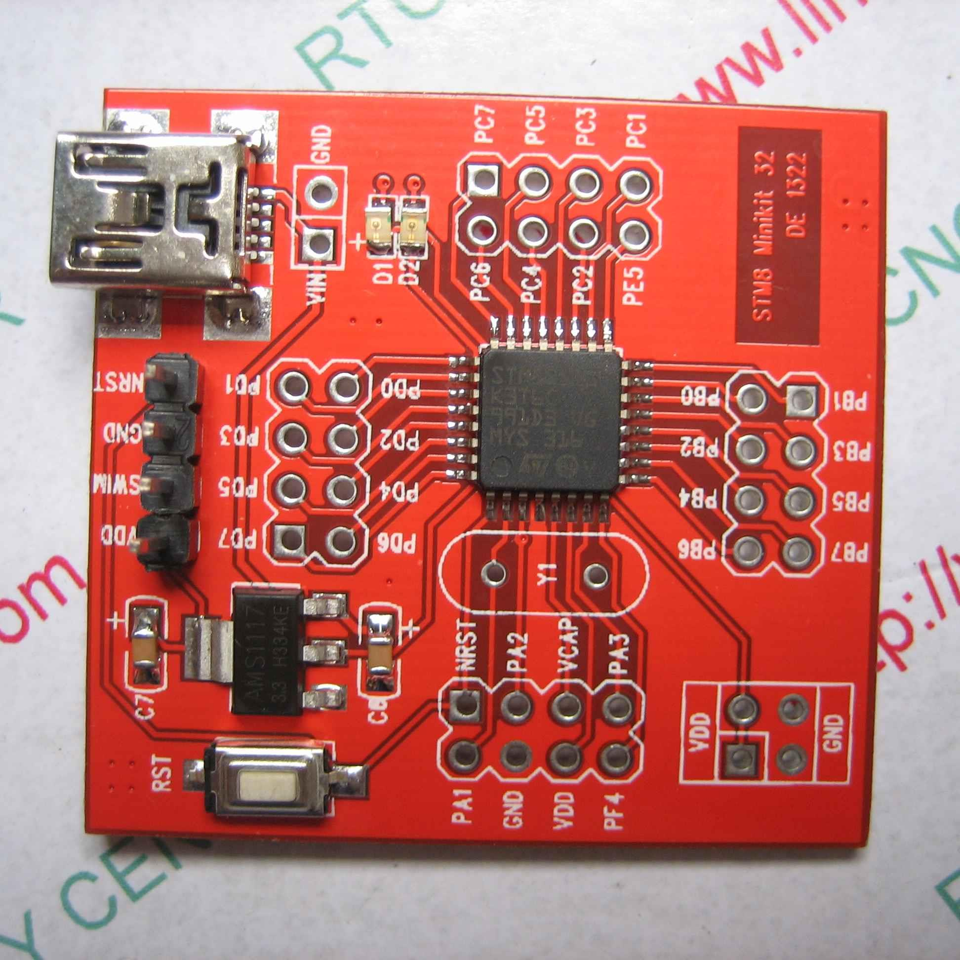 KIT STM8S003K3T6 MINI -