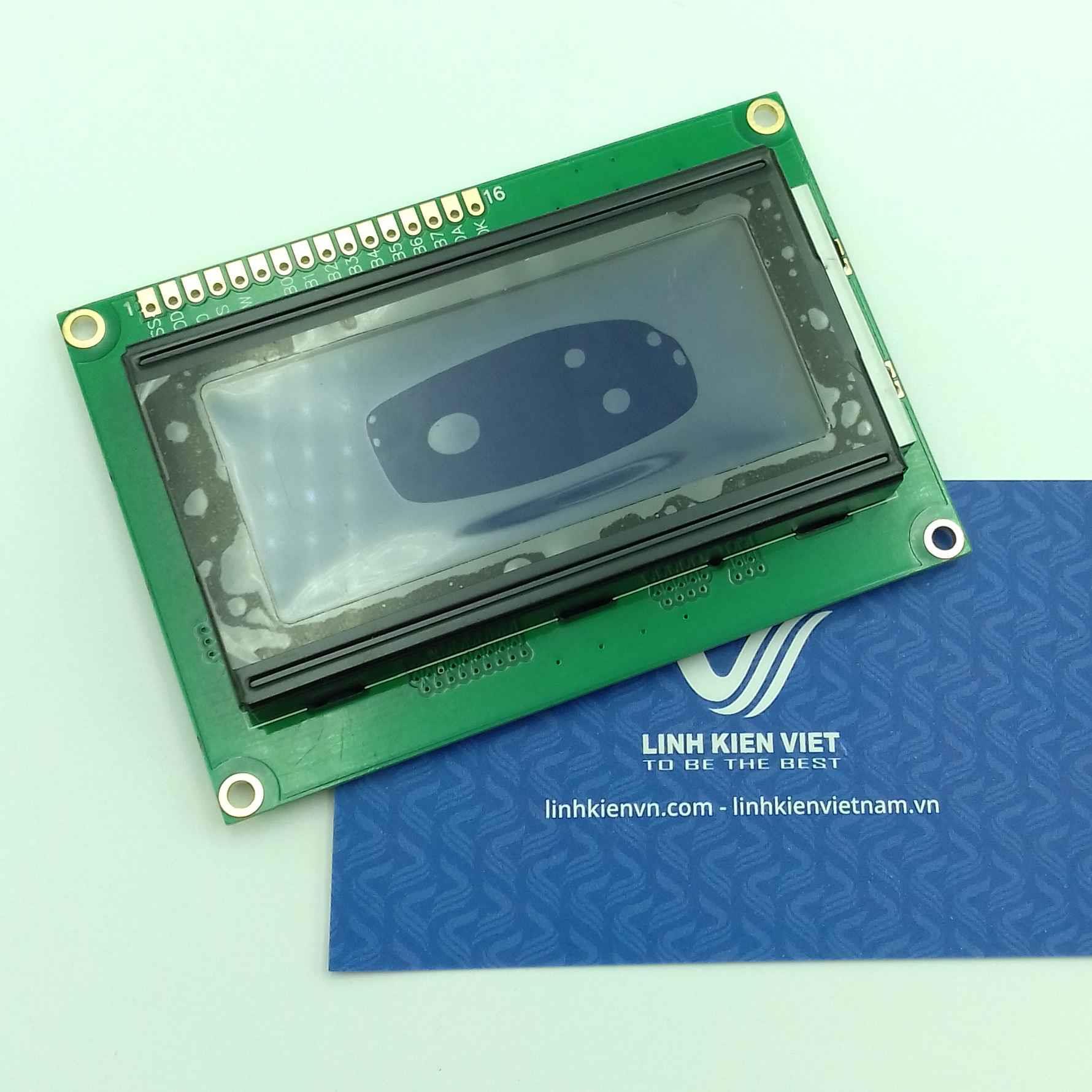 LCD 1604 xanh dương/ Màn hình hiển thị LCD 1604 màu xanh dương - J1H6