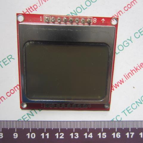 LCD nokia 5110 128x64 - A3H9