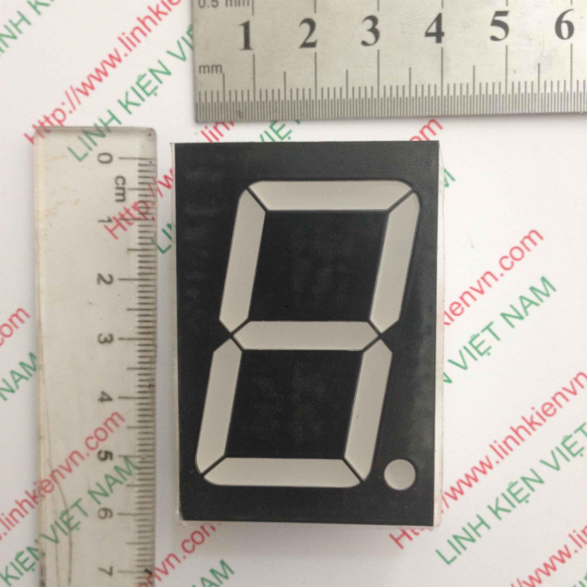 Led 7 Thanh đỏ đơn 1.80inch (3.8cm-5.6cm) - A3H20