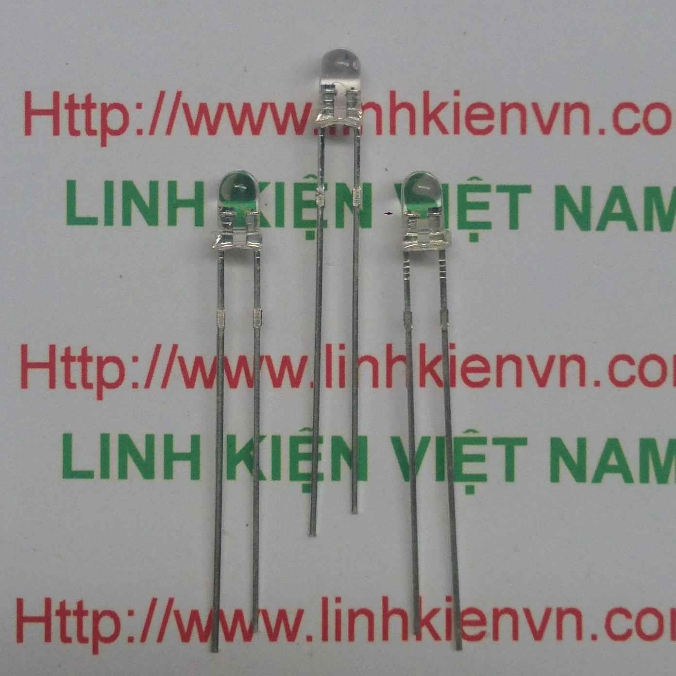 Led siêu sáng 7 màu 3mm - A3H3