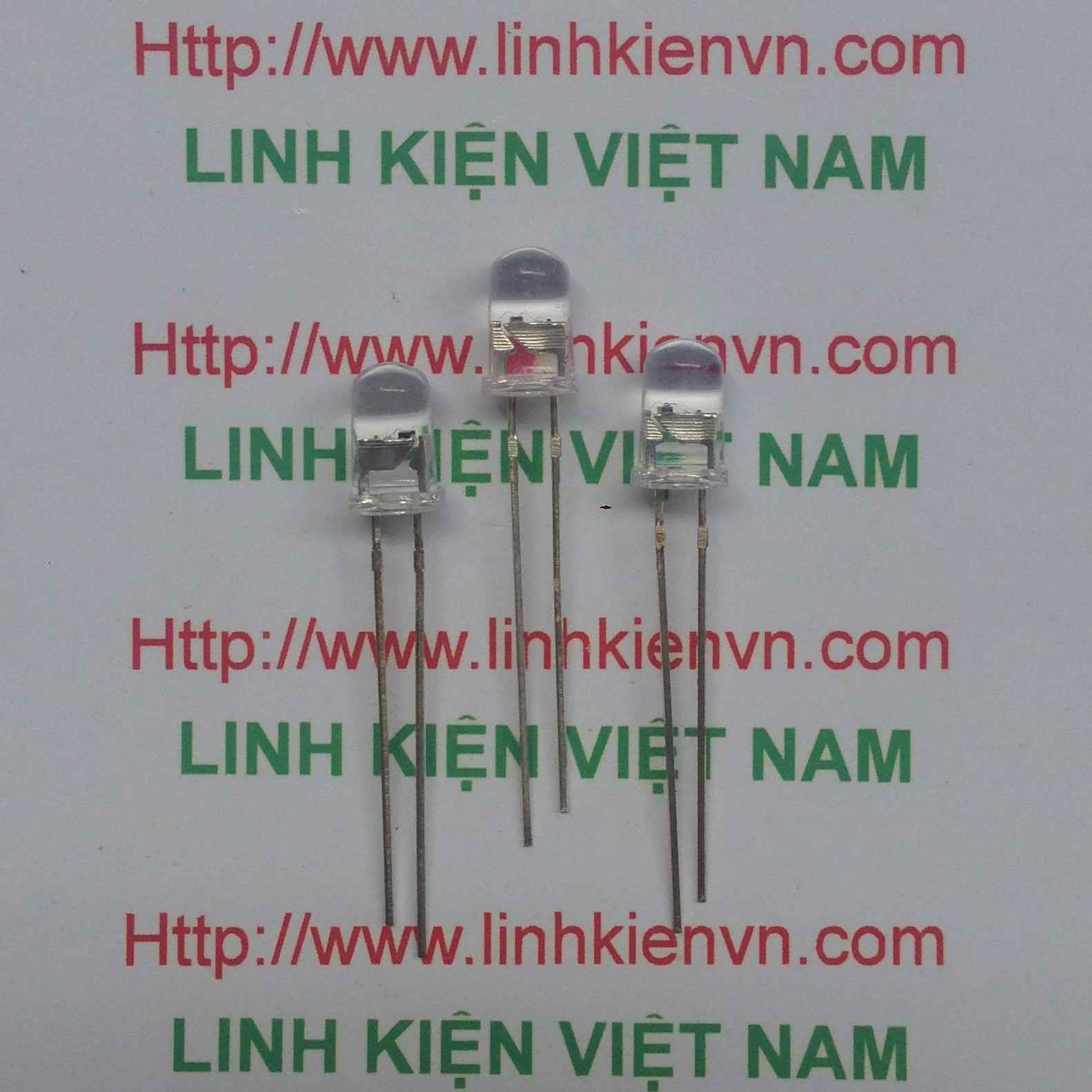 Led siêu sáng 7 màu 5mm - A3H3