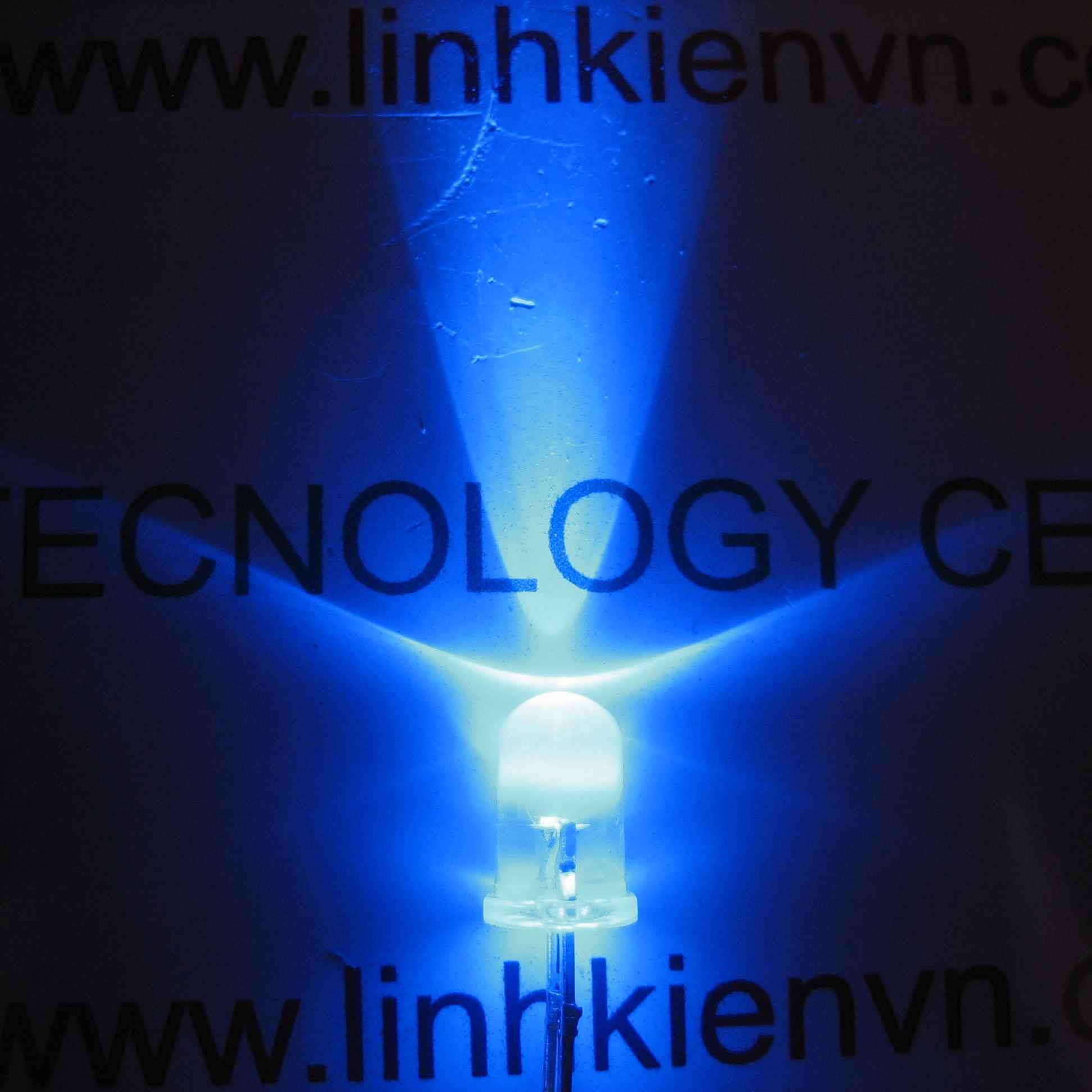 Led siêu sáng xanh dương 5mm (10 chiếc) - A4H3 (KA2H1)
