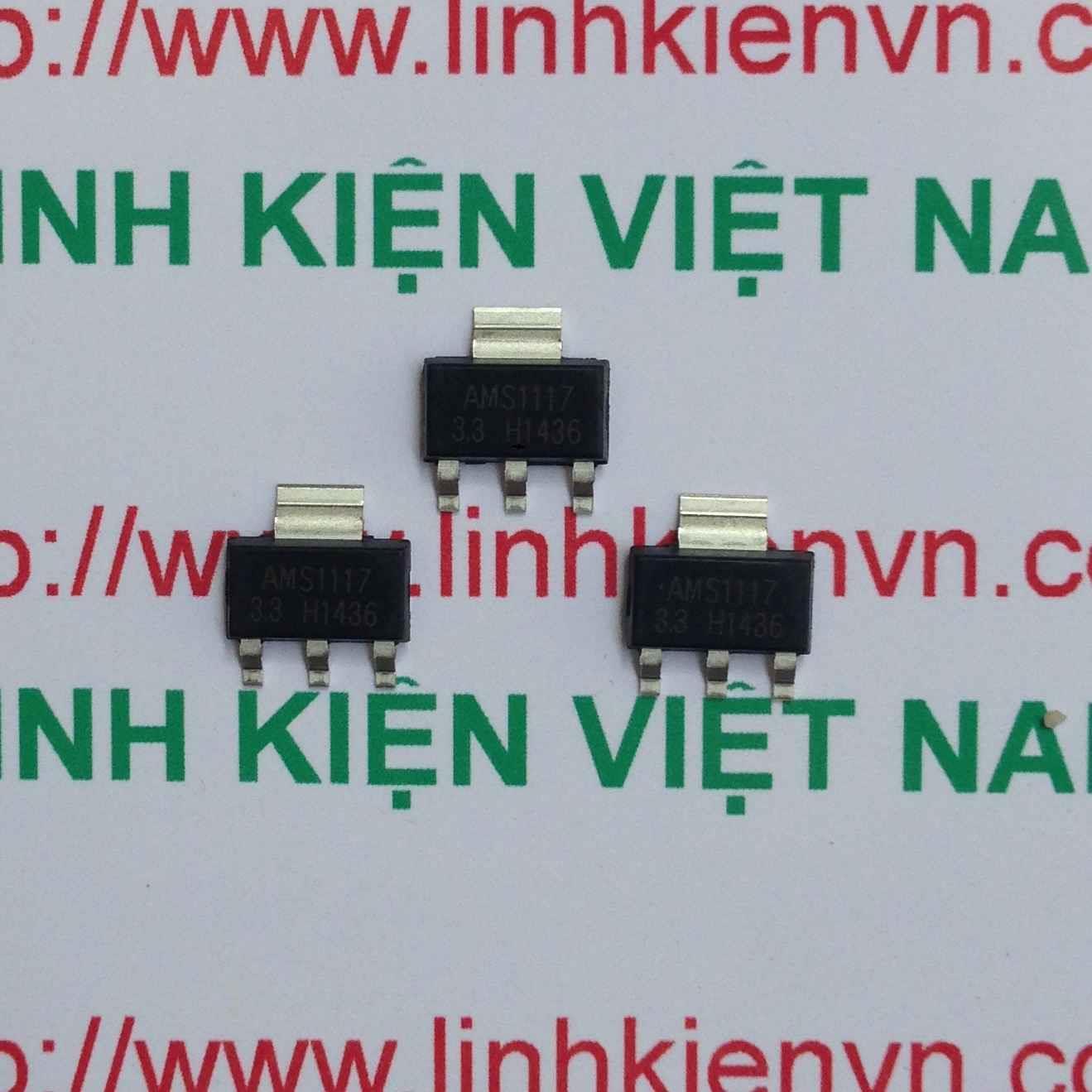 LM1117 ASM1117 3.3V SOT-223 - F10H8