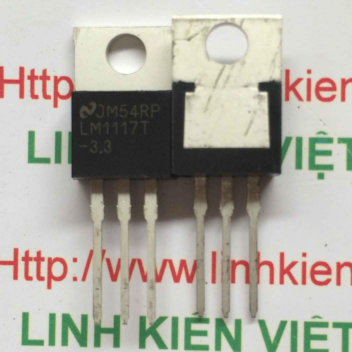 LM1117T 3.3V TO220 - B4H6
