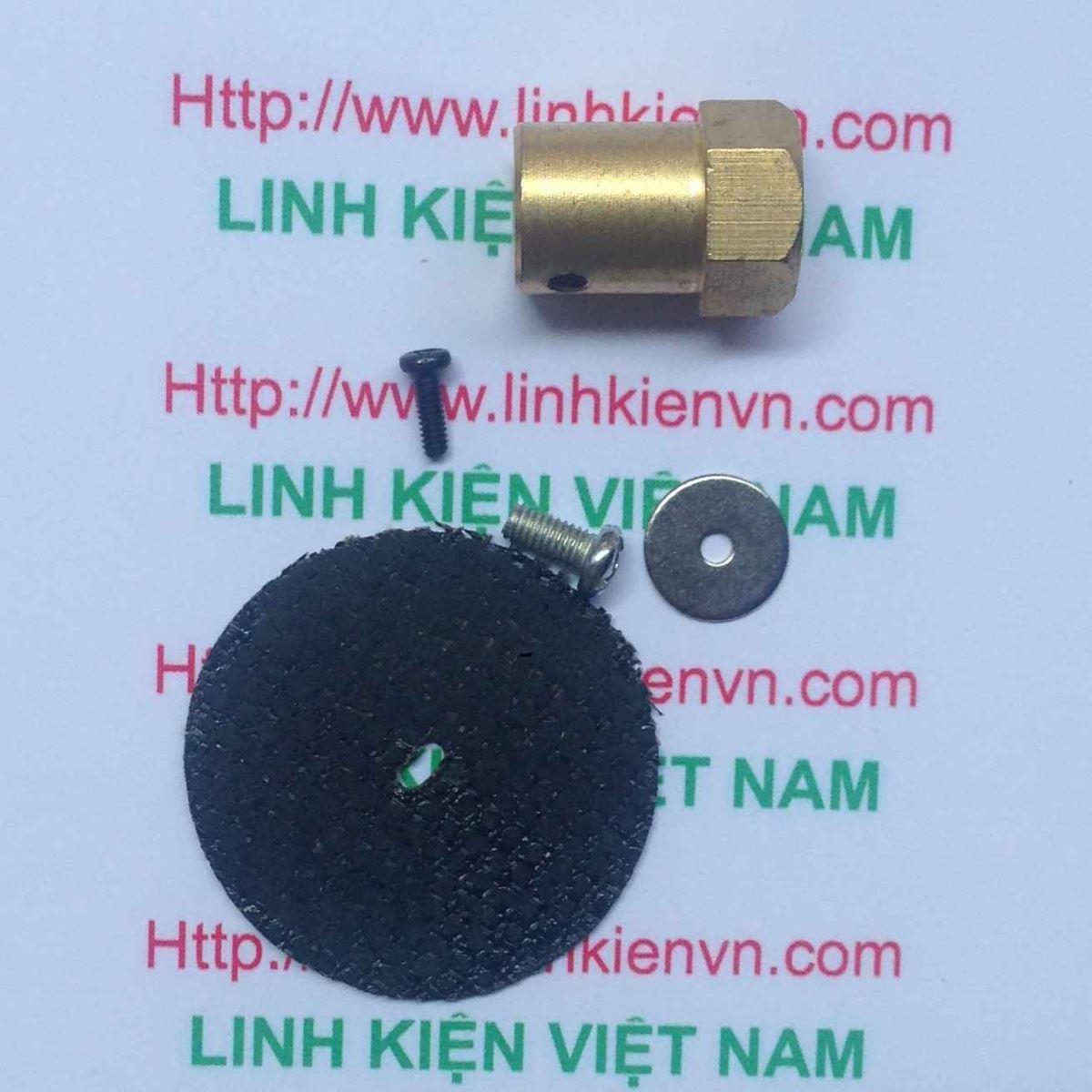 Lưỡi cắt kim loại mini cho động cơ 775 / Lưỡi mài kim loại mini - G8H12
