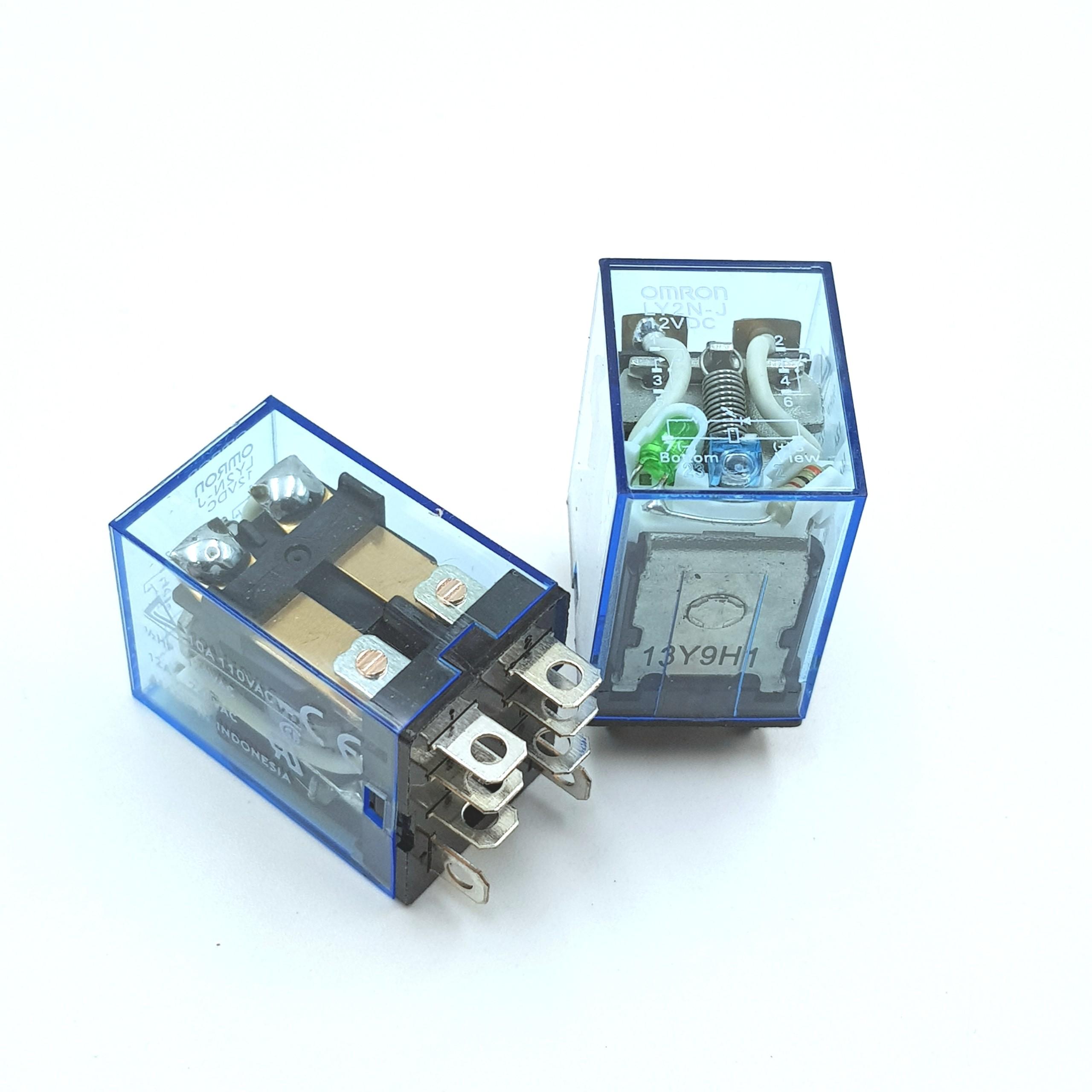Relay trung gian LY2N-J -12VDC Chính Hãng Omron G7H16