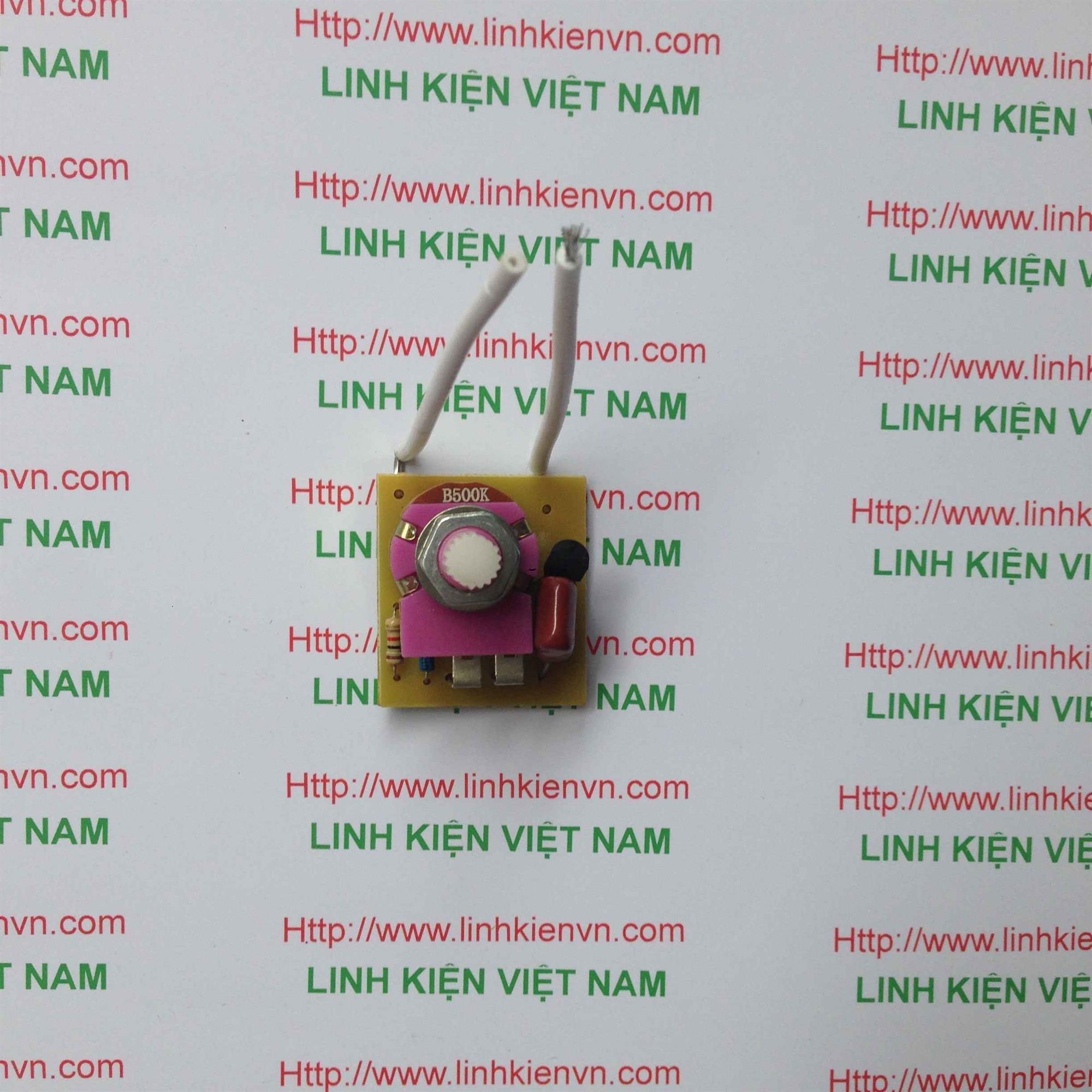 Mạch điều khiển Triac Dimmer AC220V 100W/ Mạch điều khiển đèn học - G1H4