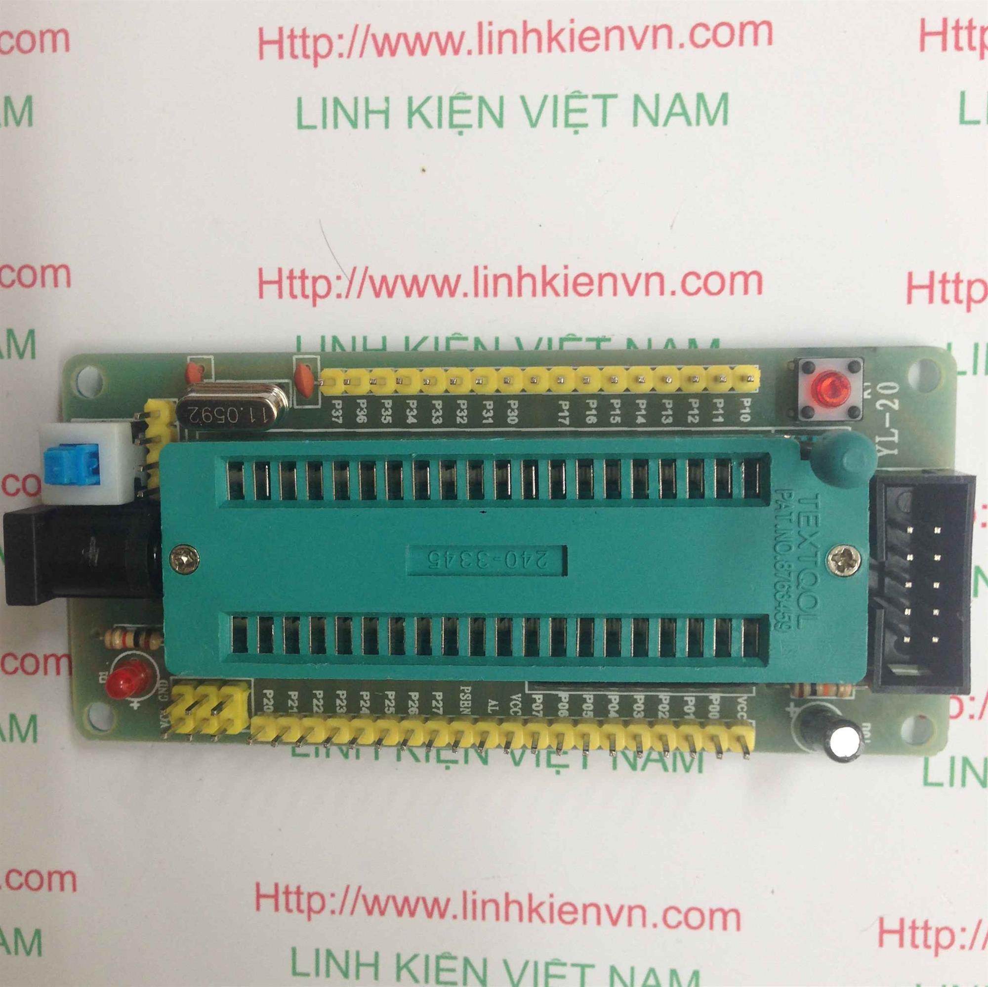 Mạch socket 89S52 mở rộng - B3H9