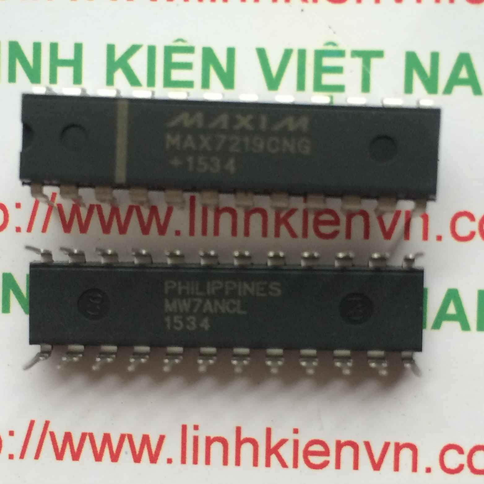 MAX7219CNG DIP24 - F5H9