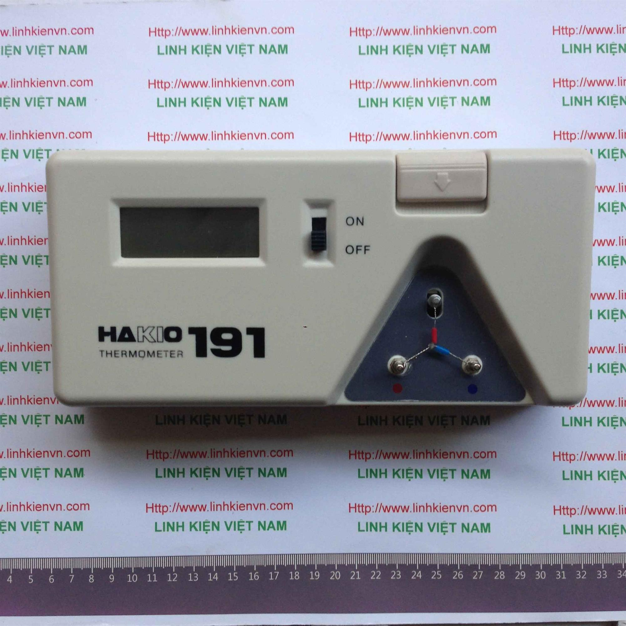 Máy đo nhiệt độ cho máy hàn -  HaKKO191 - KHO B