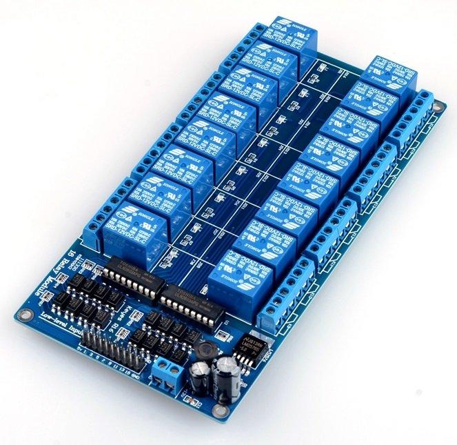 Module Relay 16 Kênh 12V - 10A/220V - X5H5
