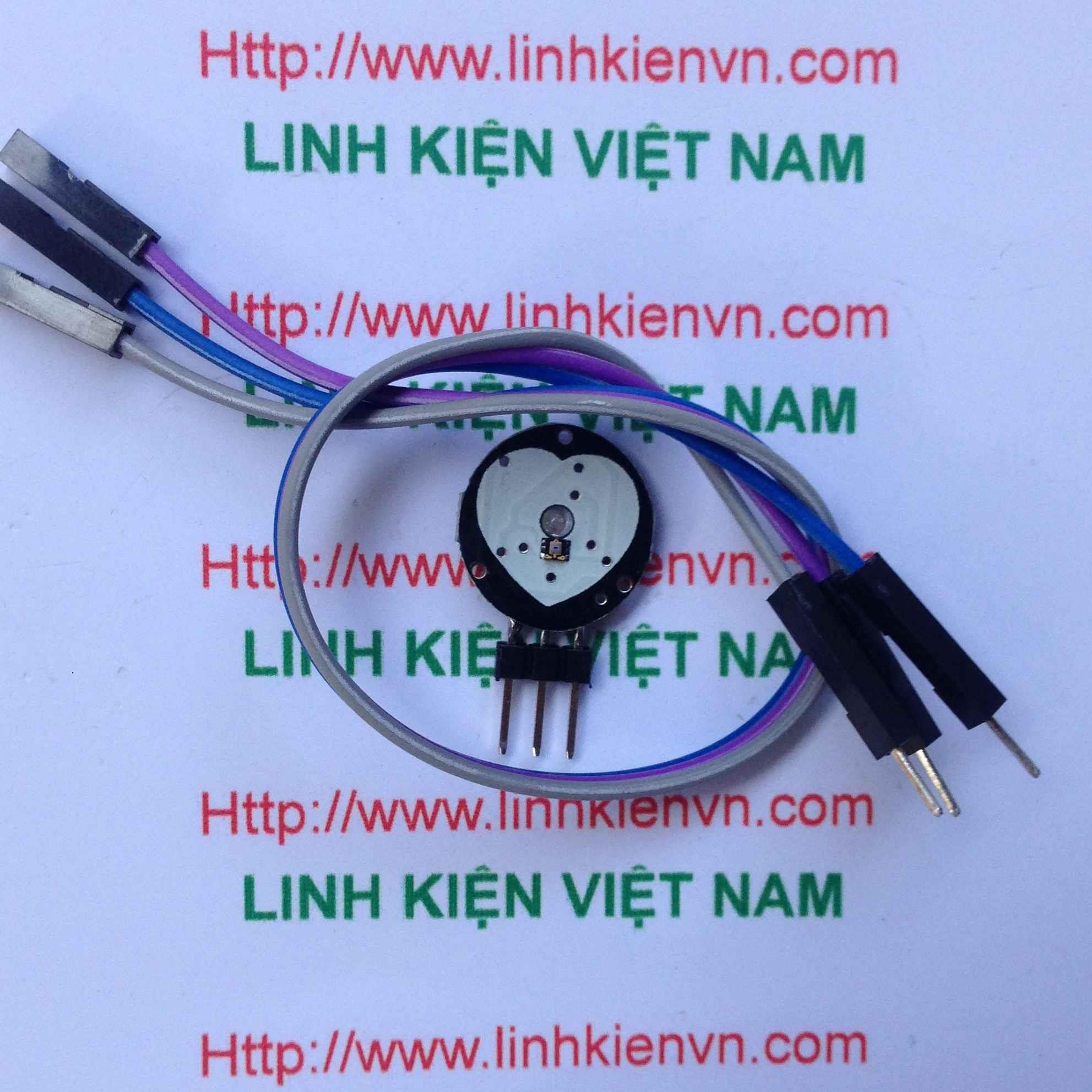 Module cảm biến nhịp tim / Mạch đo nhịp tim - G3H17