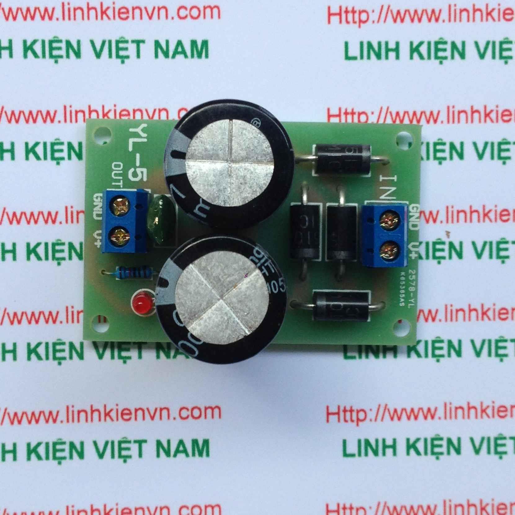 Module chỉnh lưu / Mạch chuyển đổi điện áp xoay chiều thành một chiều - G2H16