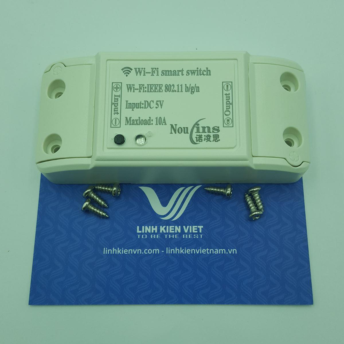 Module điều khiển thiết bị qua Wifi 5V 1 kênh - Kho G